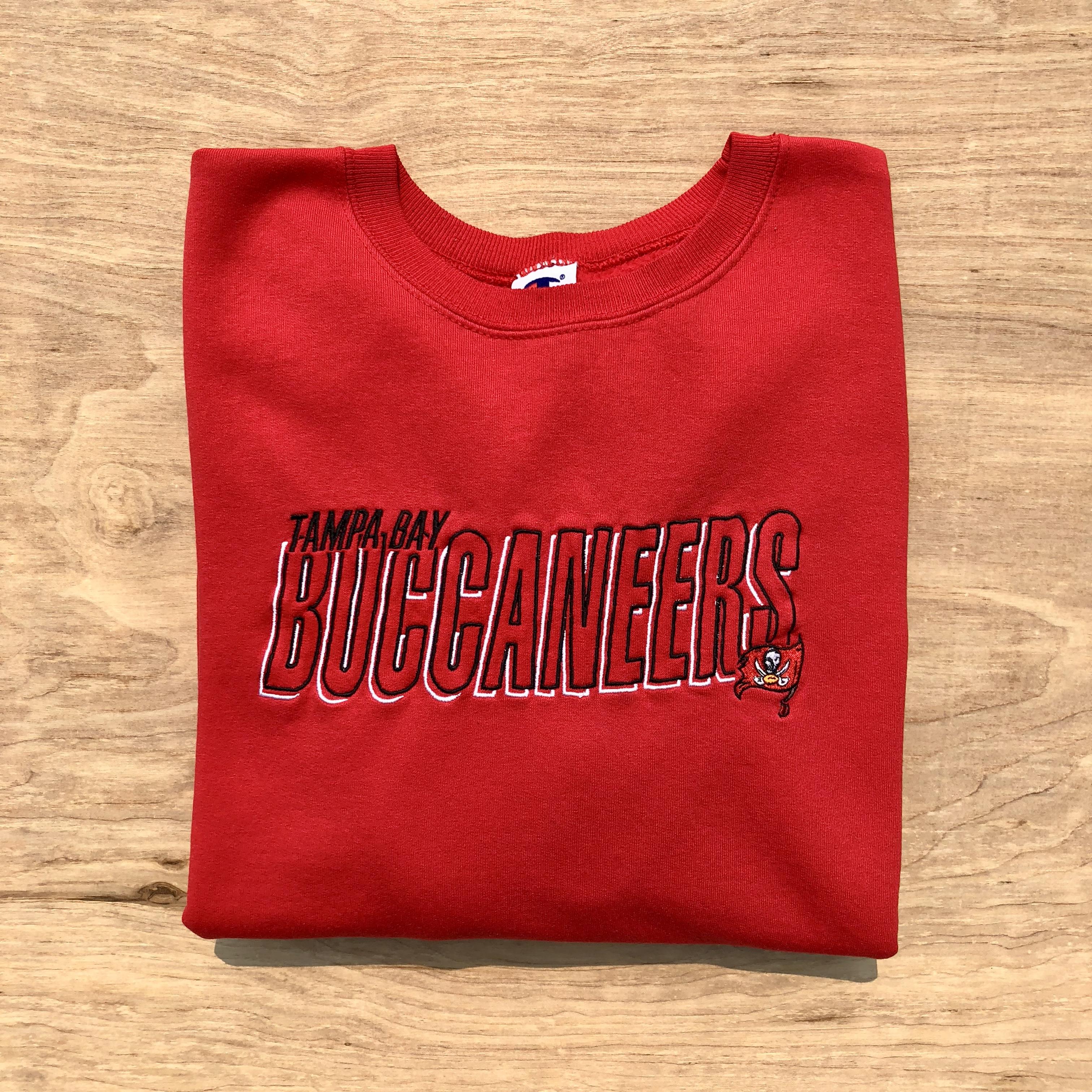 Vintage 90s Tampa Bay Buccaneers Football Crewneck Sweatshirt | Grailed  for cheap