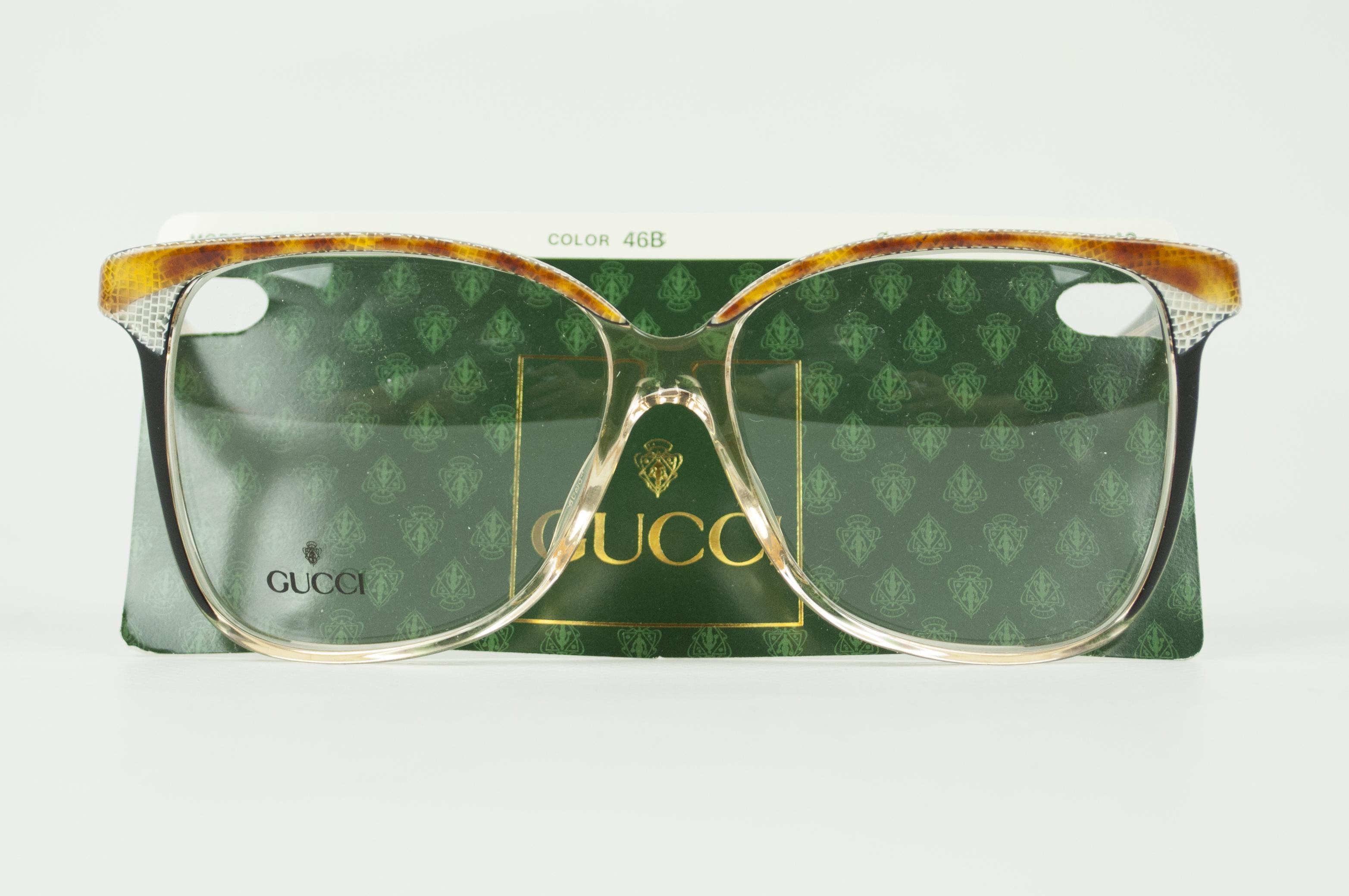 d89255c2153c Gucci × Vintage ×. DEADSTOCK Gucci Vtg Sunglasses Eyeglasses Frame GG ...