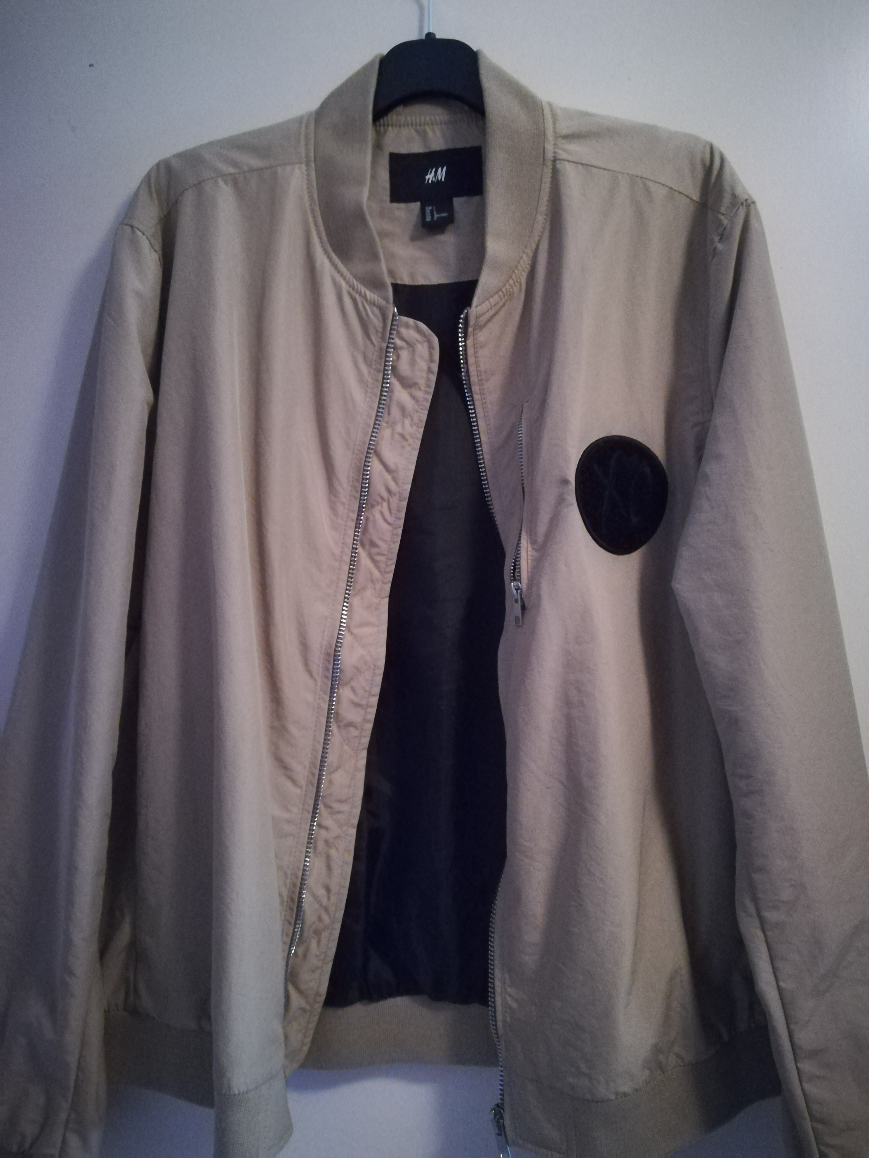 replicas best quality for best quality H&M XO Bomber Jacket