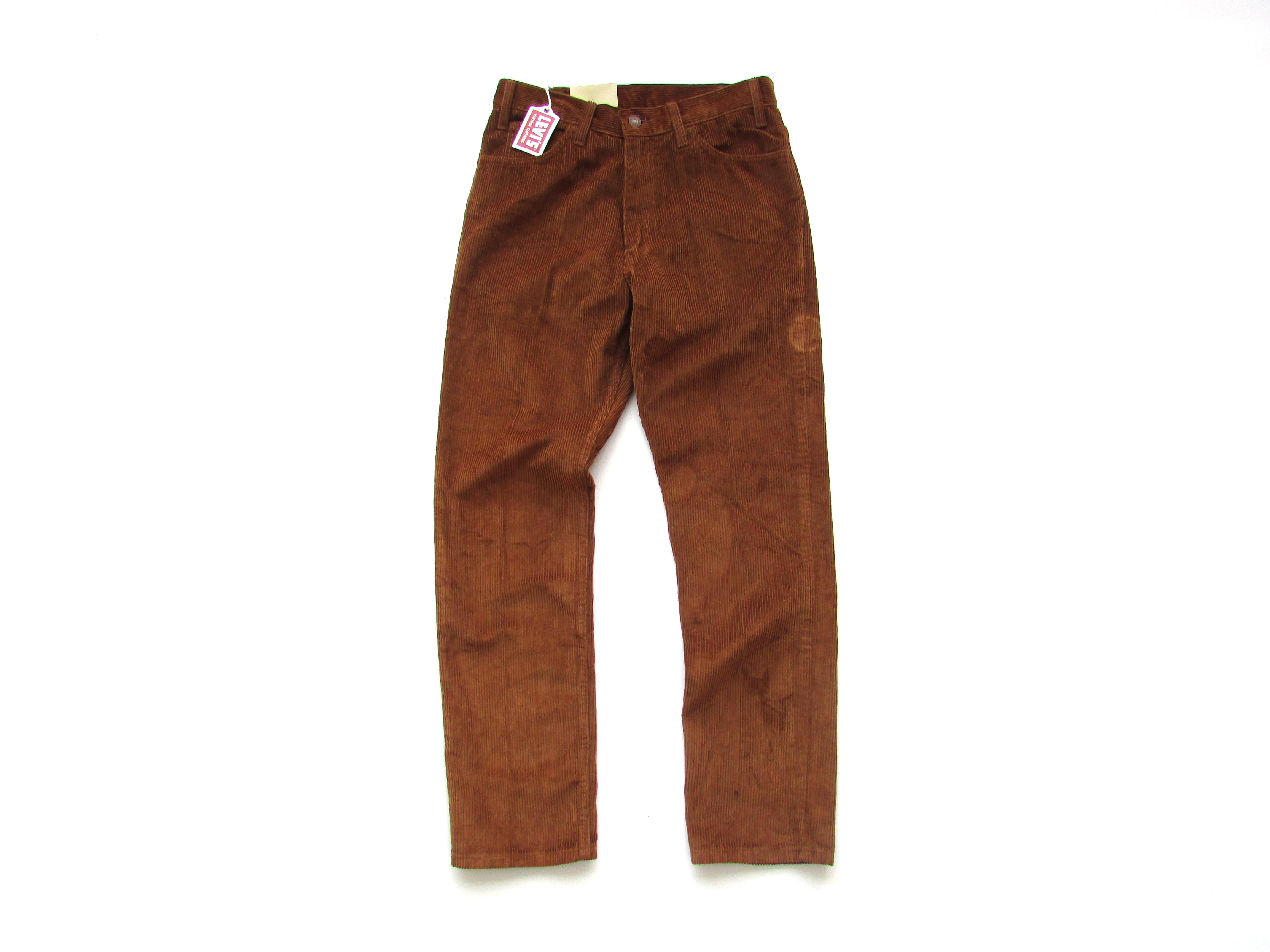 cfde6dfcce3 Levi's Vintage Clothing ×. Levis Vintage Clothing LVC Lot 519 Big E 60s Sta- Prest Corduroy Pants Trousers