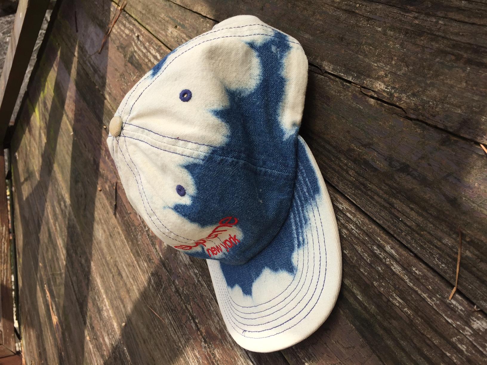 8936e9a5028 Supreme Bleached Denim Camp Hat
