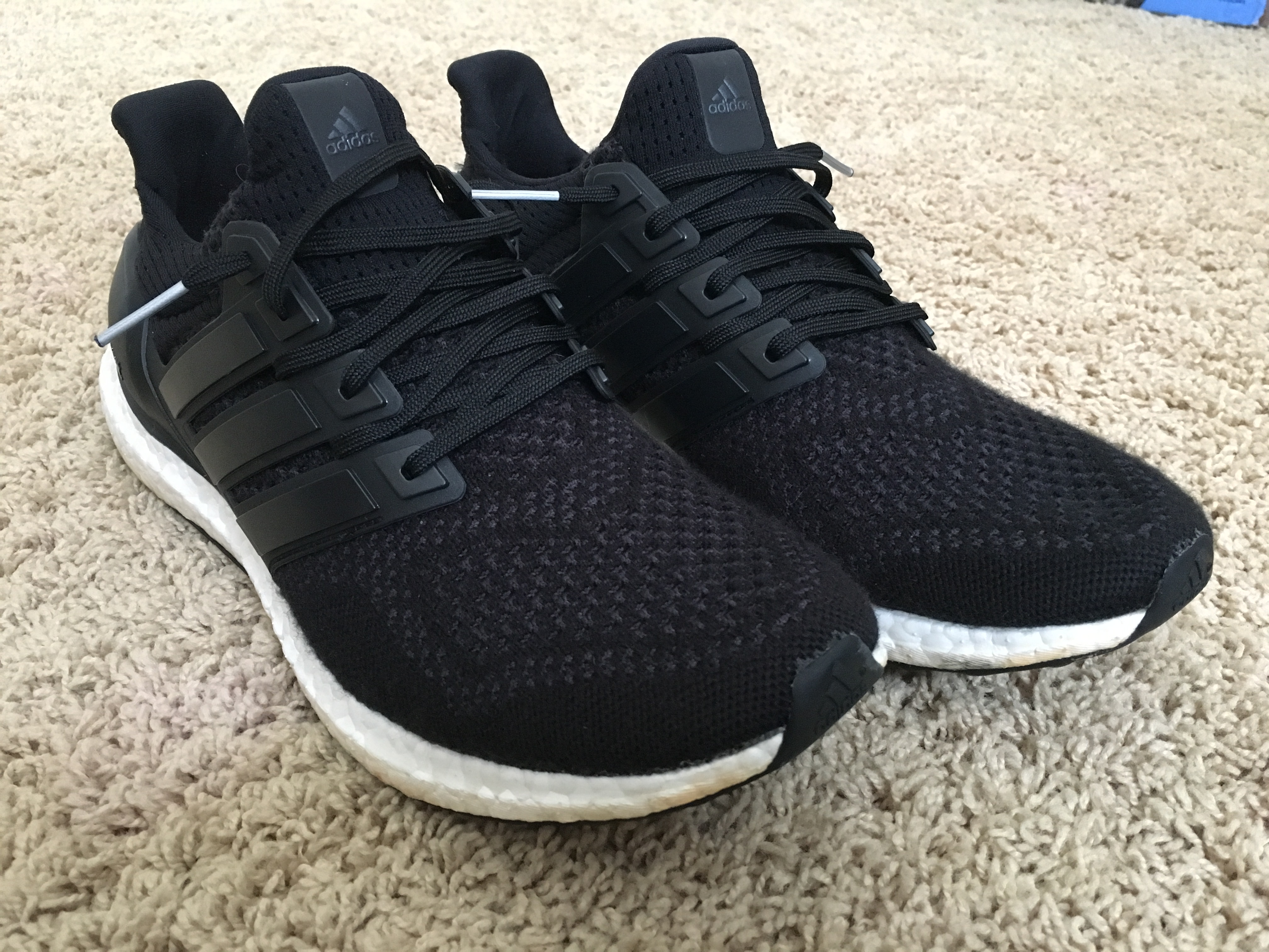 fe83644c761c3 Adidas Ultra Boost Core Black 1.0 Size 10.5 - for Sale - Grailed