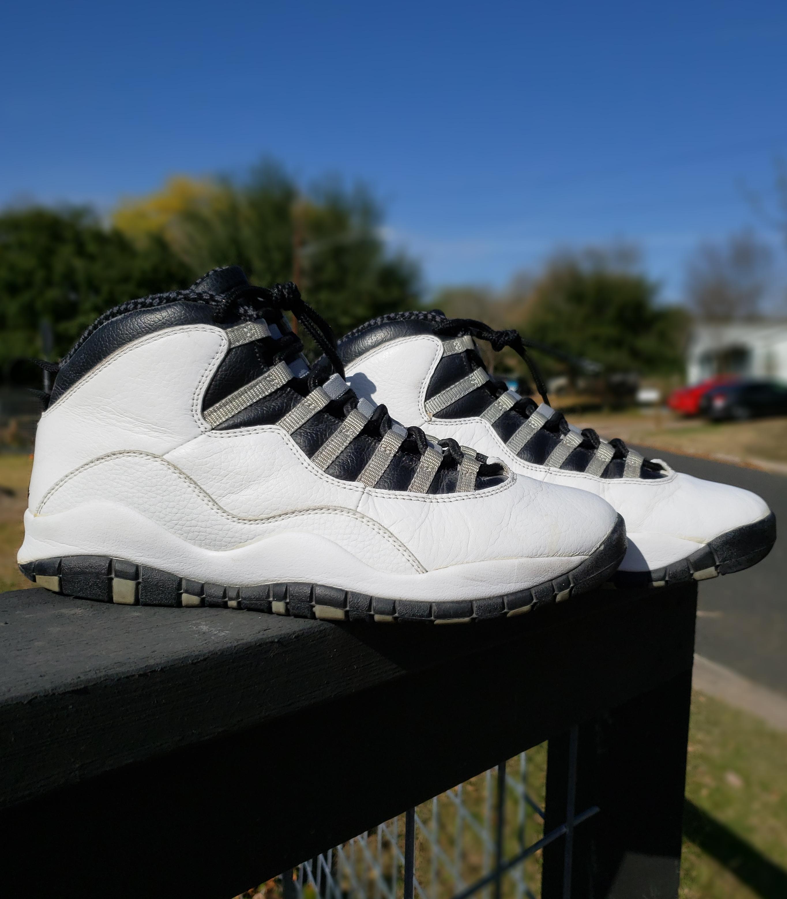 7a9a451f8fc8c7 Nike Nike Air Jordan 2005 Retro 10 Steel X Michael Jordan Mj
