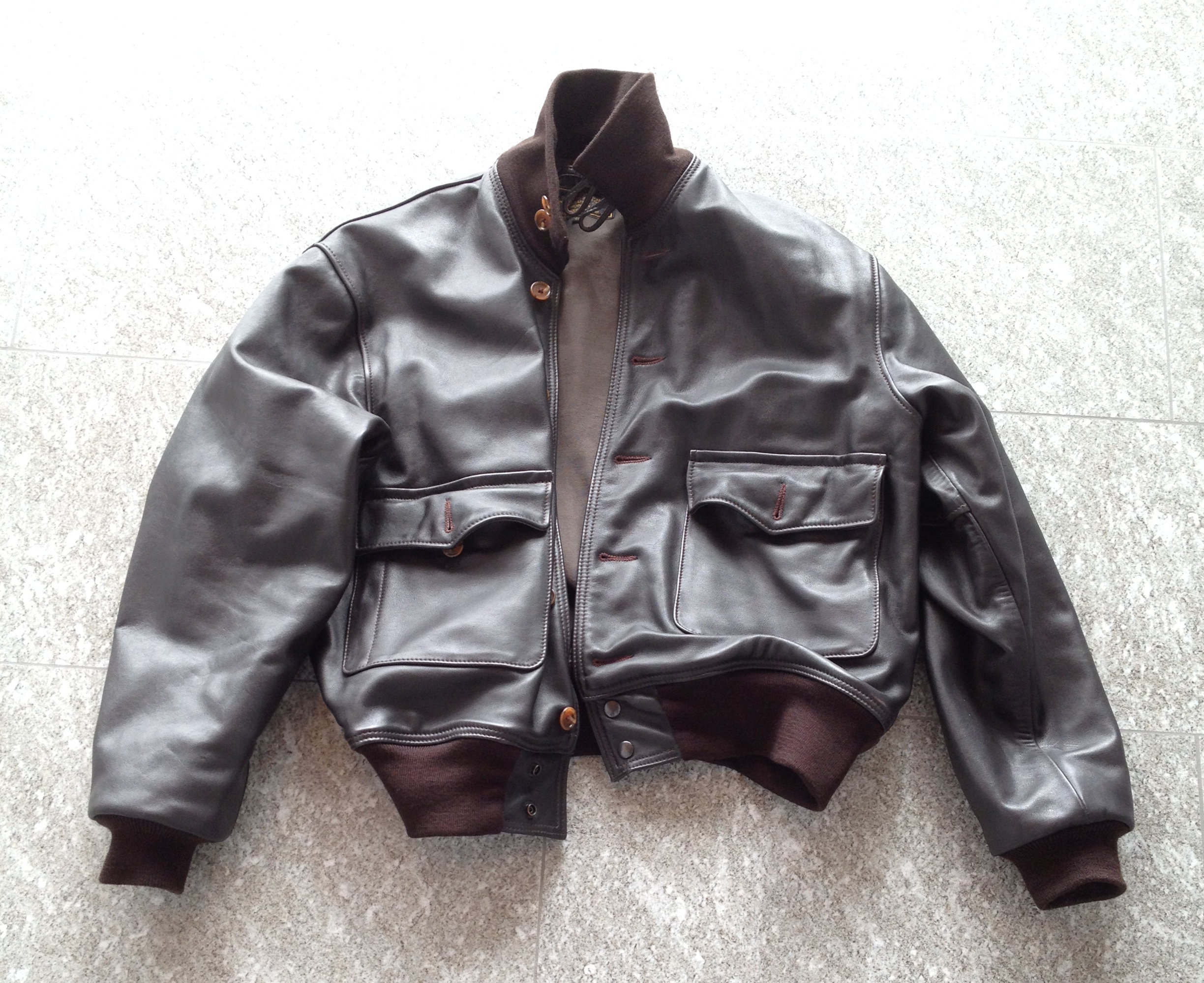 b36a0c5fbb3 Aero Leather Air Corps US Army Type A-1 Flying Jacket from Aero ...