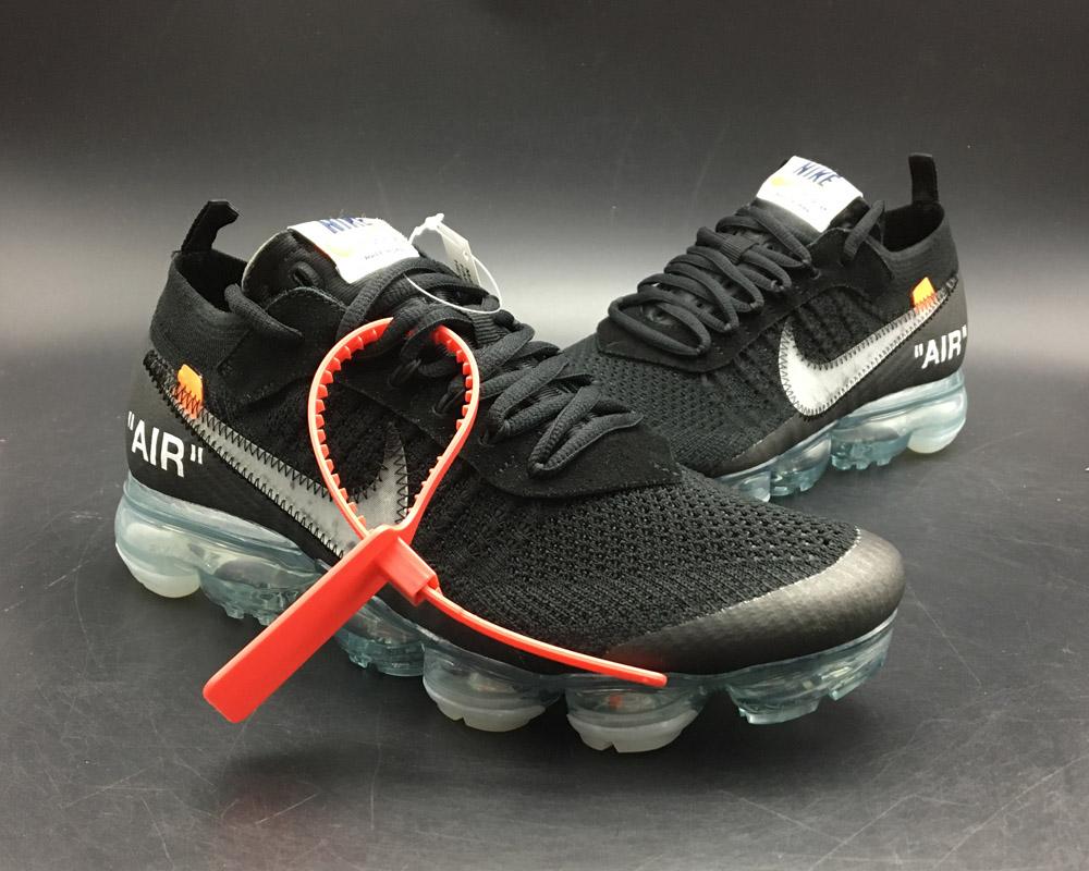 9072364037de Nike 2018 Off-white X Nike Air Vapormax Black Total Crimson-clear ...