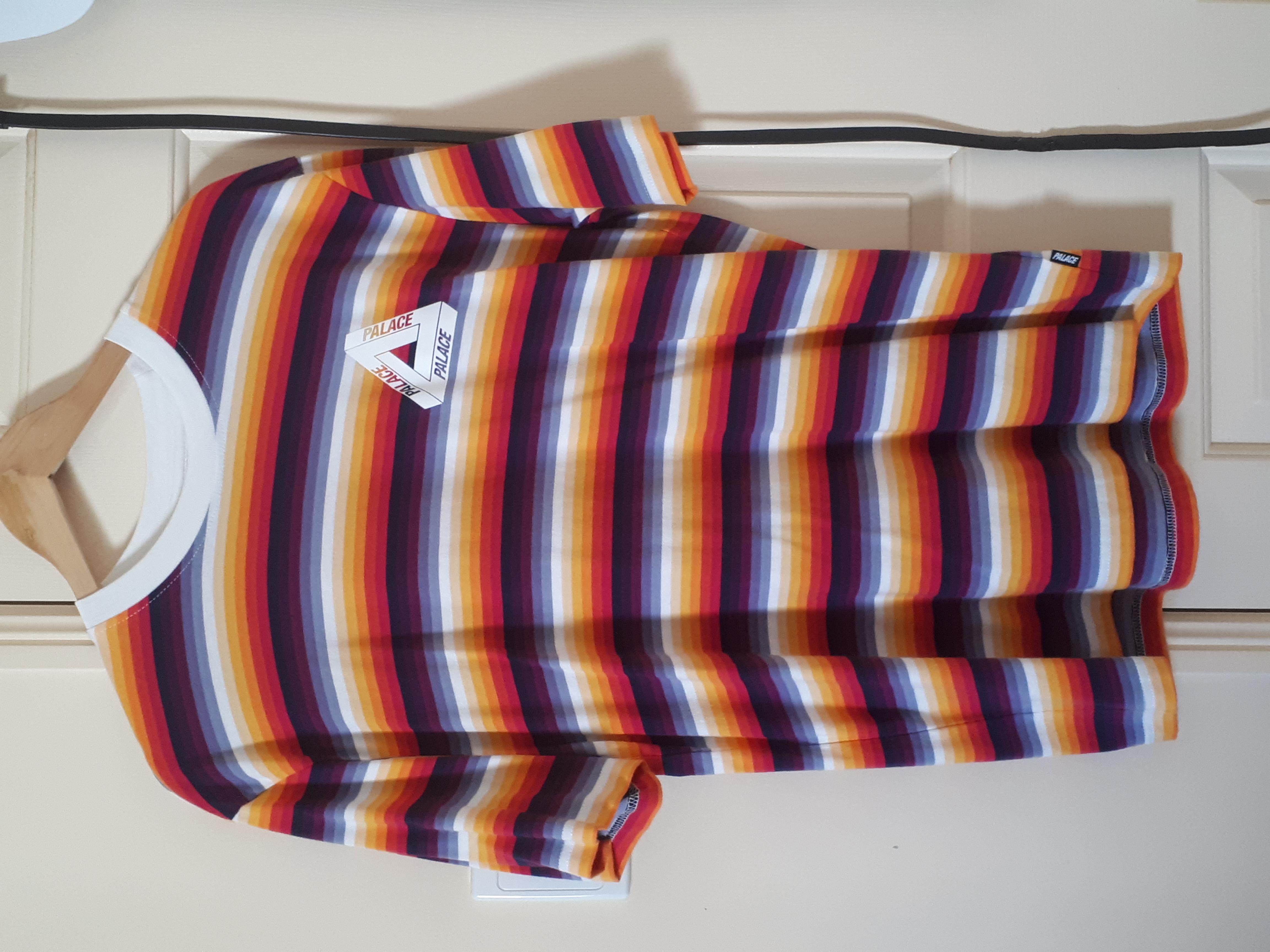 f753b7ddd560 Palace Palace Tri Ferg Thin Stripe tee Size m - Short Sleeve T-Shirts for  Sale - Grailed