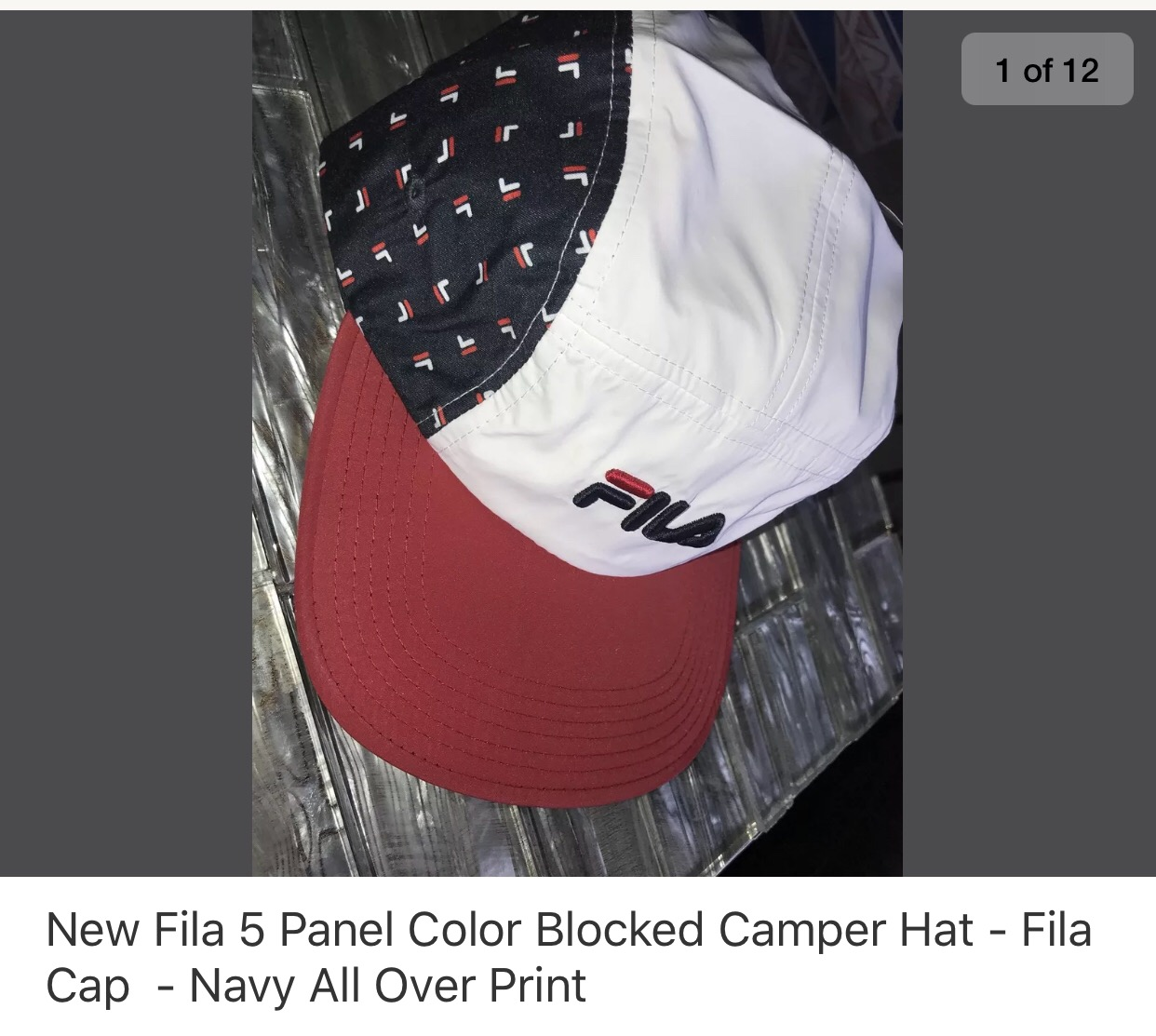 c642d628ef6 Fila All Over Print Size one size - Hats for Sale - Grailed