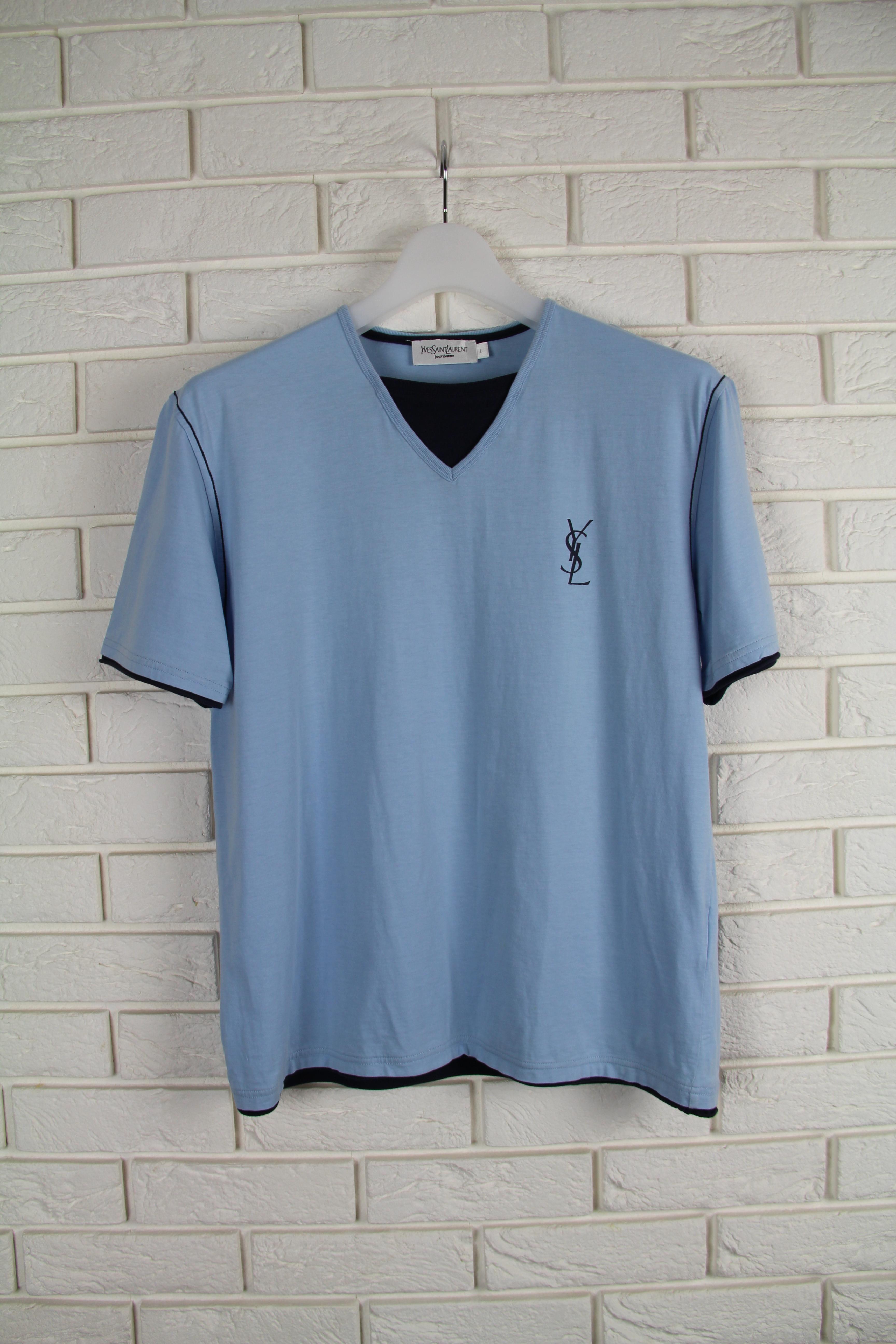 771f71ca98b9 Yves Saint Laurent Ysl Logo T-shirt