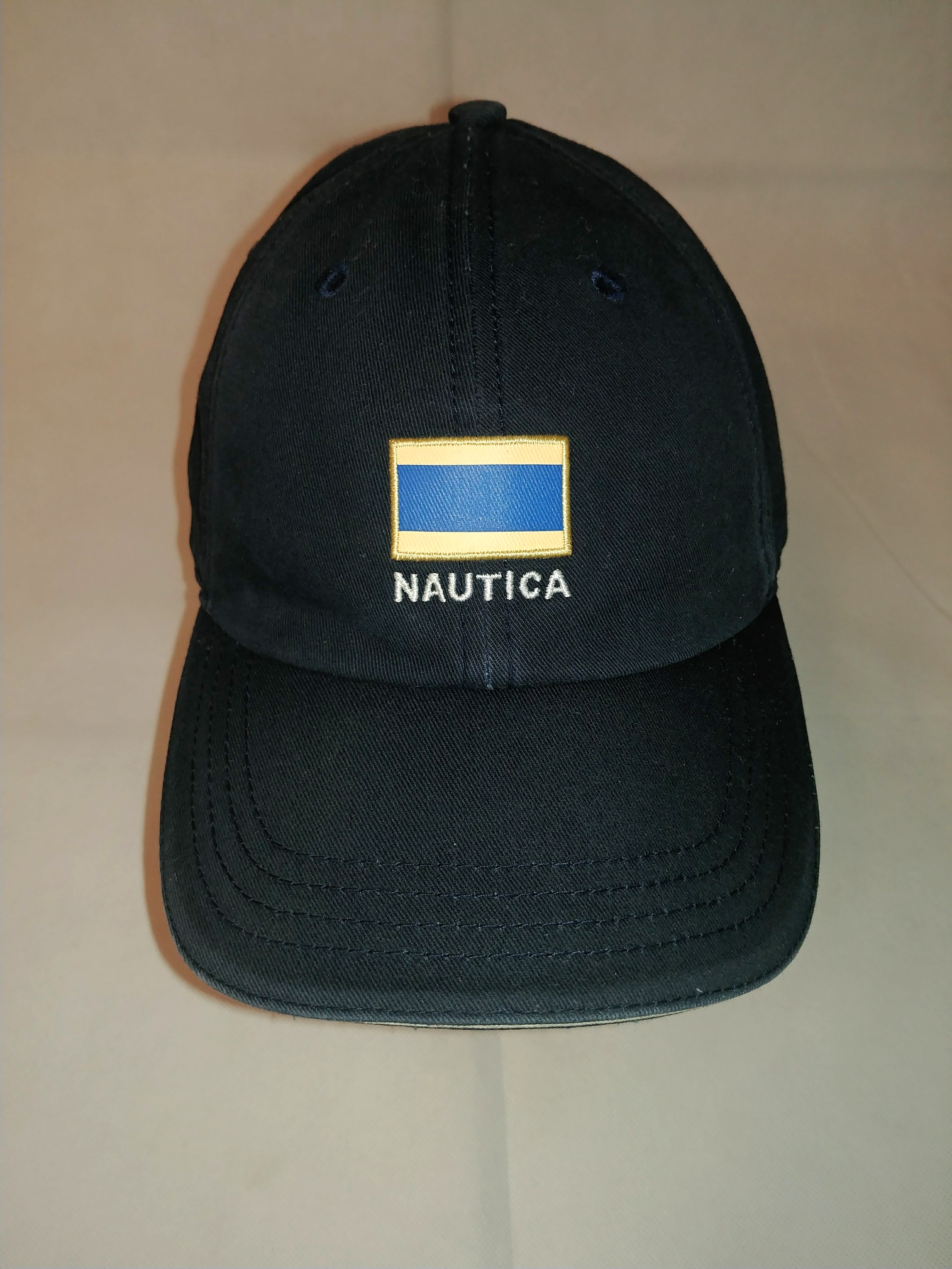 c213995d70a6a Nautica Nautica Spell Out Flag Patch Strapback Hat Size one size - Hats for  Sale - Grailed