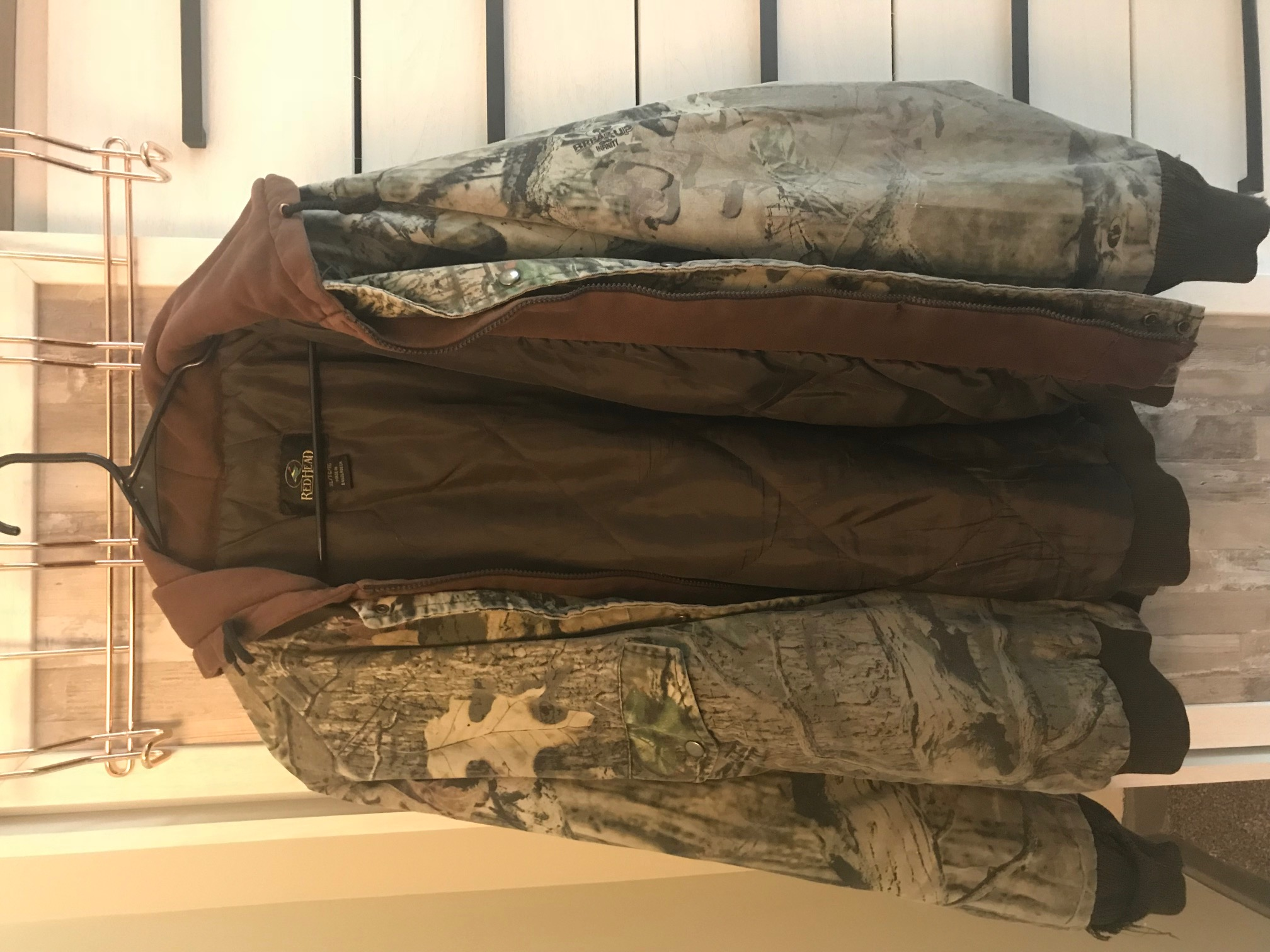 e72f52349ac7d Vintage Redhead Camo Layered Coat | Grailed