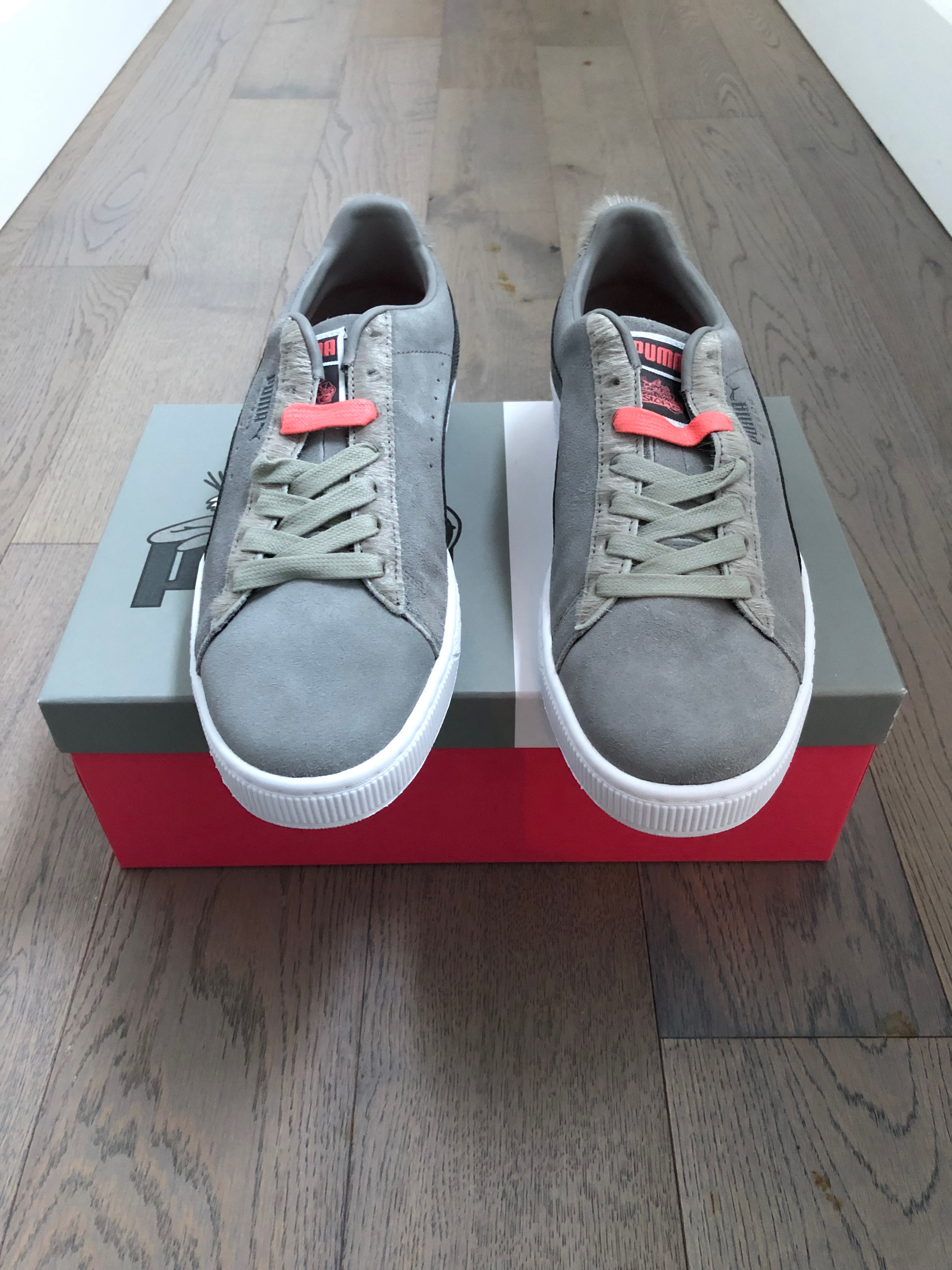 puma x staple pigeon suede classic sneakers