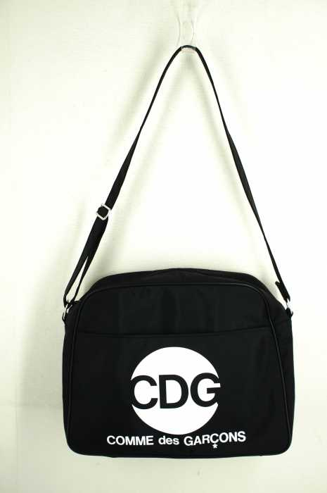 47752a93fe89 Comme Des Garcons Handbag Black Airline Shoulder Bag Nylon Cdg Print ...