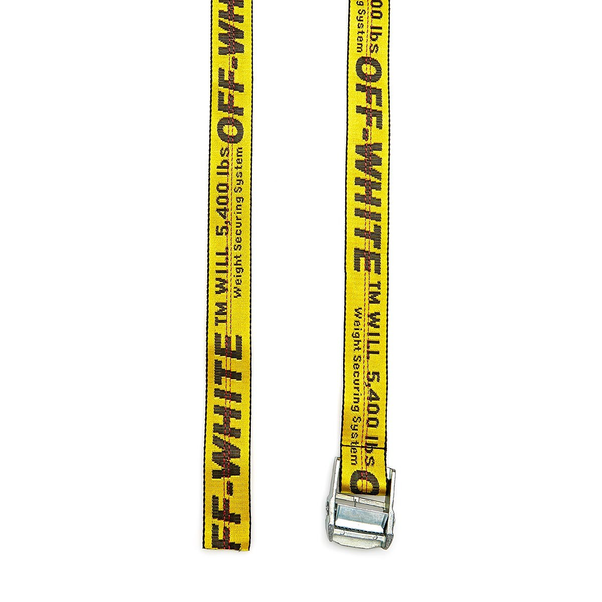 enorme sconto 0fe6b 0d655 Off White Industrial Belt Yellow