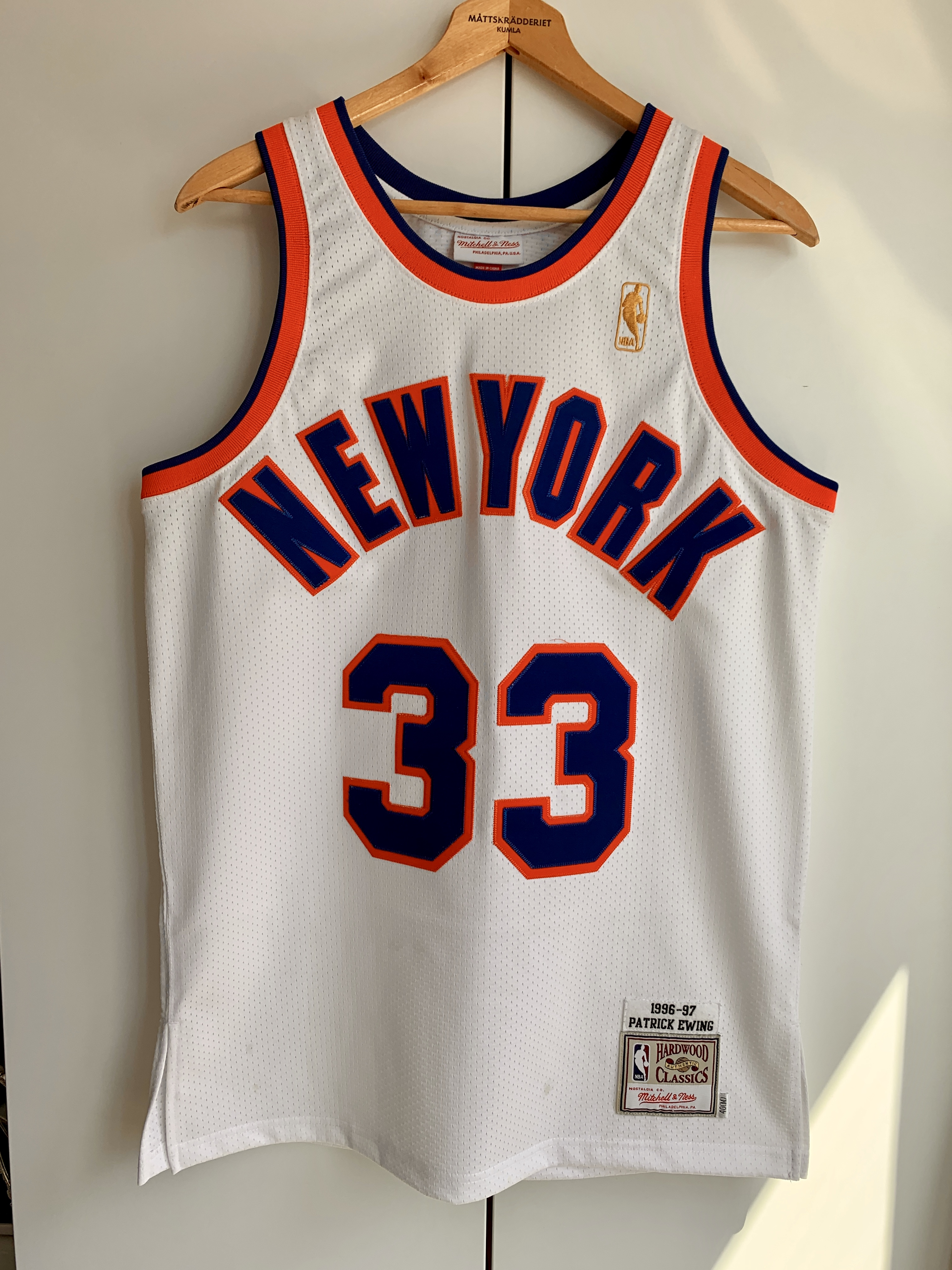 buy popular bcac6 4ad87 Patrick Ewing 96-97 season New York Knicks Jersey