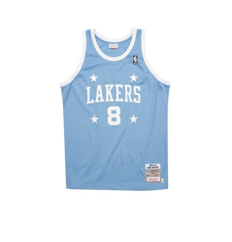 Mitchell & Ness Los Angeles Lakers Kobe Bryant Light Blue Authentic Jersey
