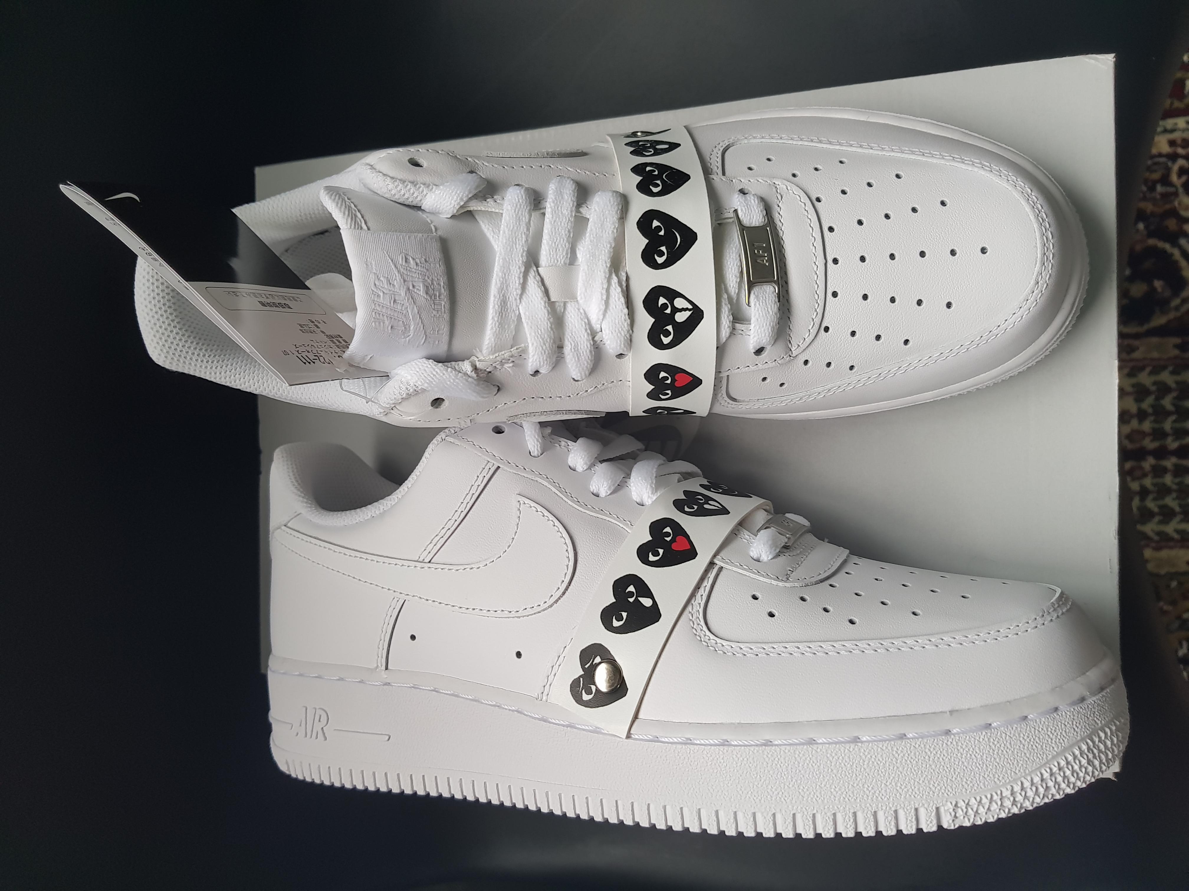 size 40 42bc7 92dc0 Nike Cdg X Nike Air Force 1 Emoji - Rare- Brand New   Grailed