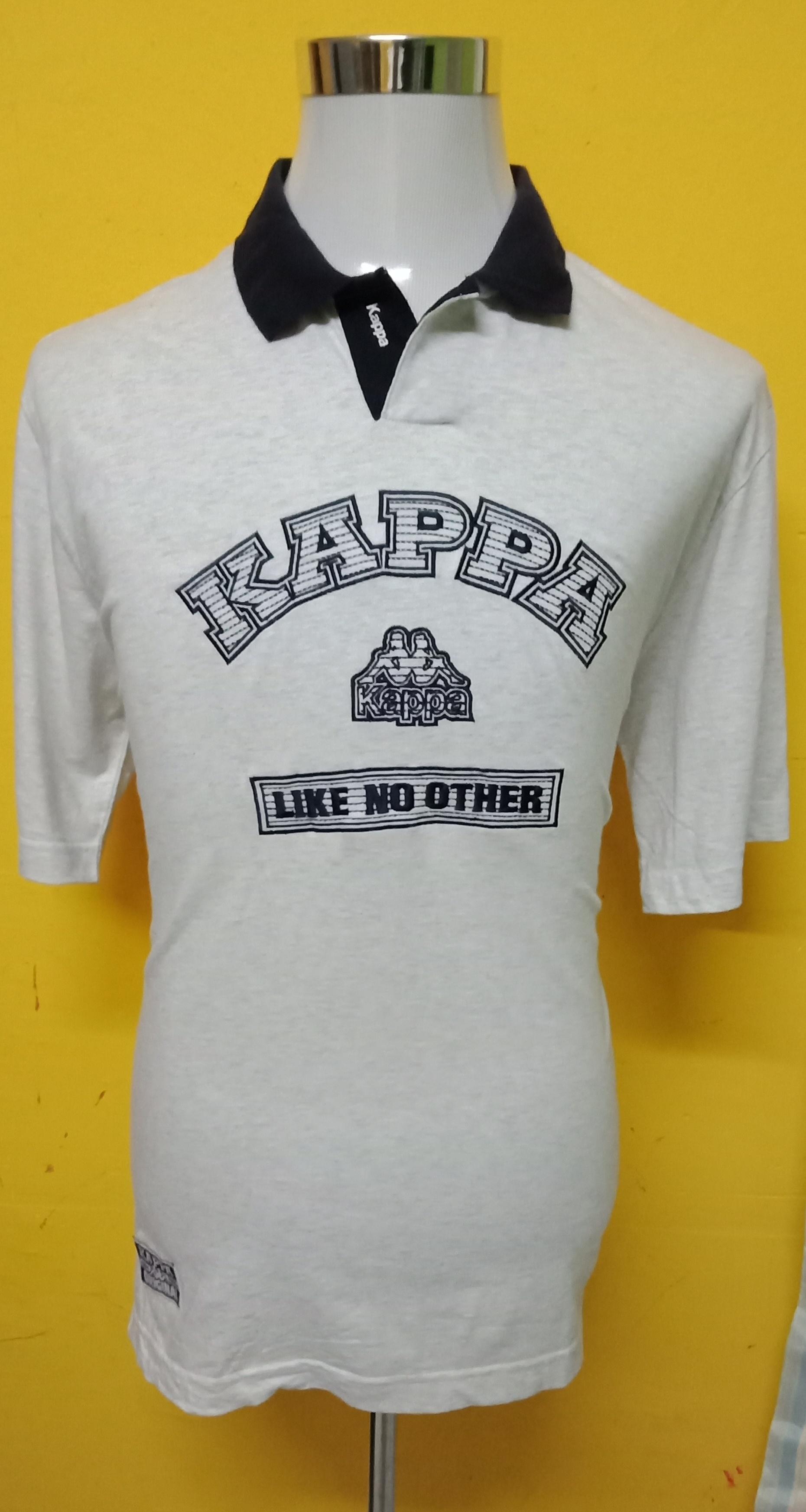 9ef878bb35 Kappa Kappa Big Logo Embroidery / Spell Out Polo T Shirt | Grailed