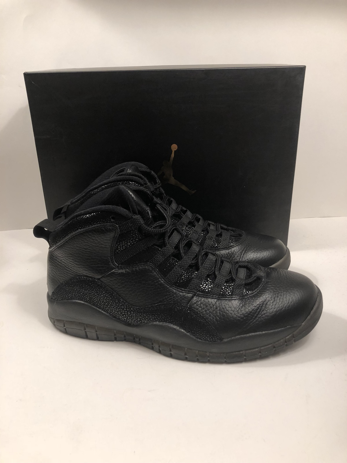 c105001cd9a Jordan Brand NIKE AIR JORDAN X RETRO 10 OVO DRAKE BLACK METALLIC GOLD 819955 -030 MEN S SZ 10 Size 10 - Hi-Top Sneakers for Sale - Grailed