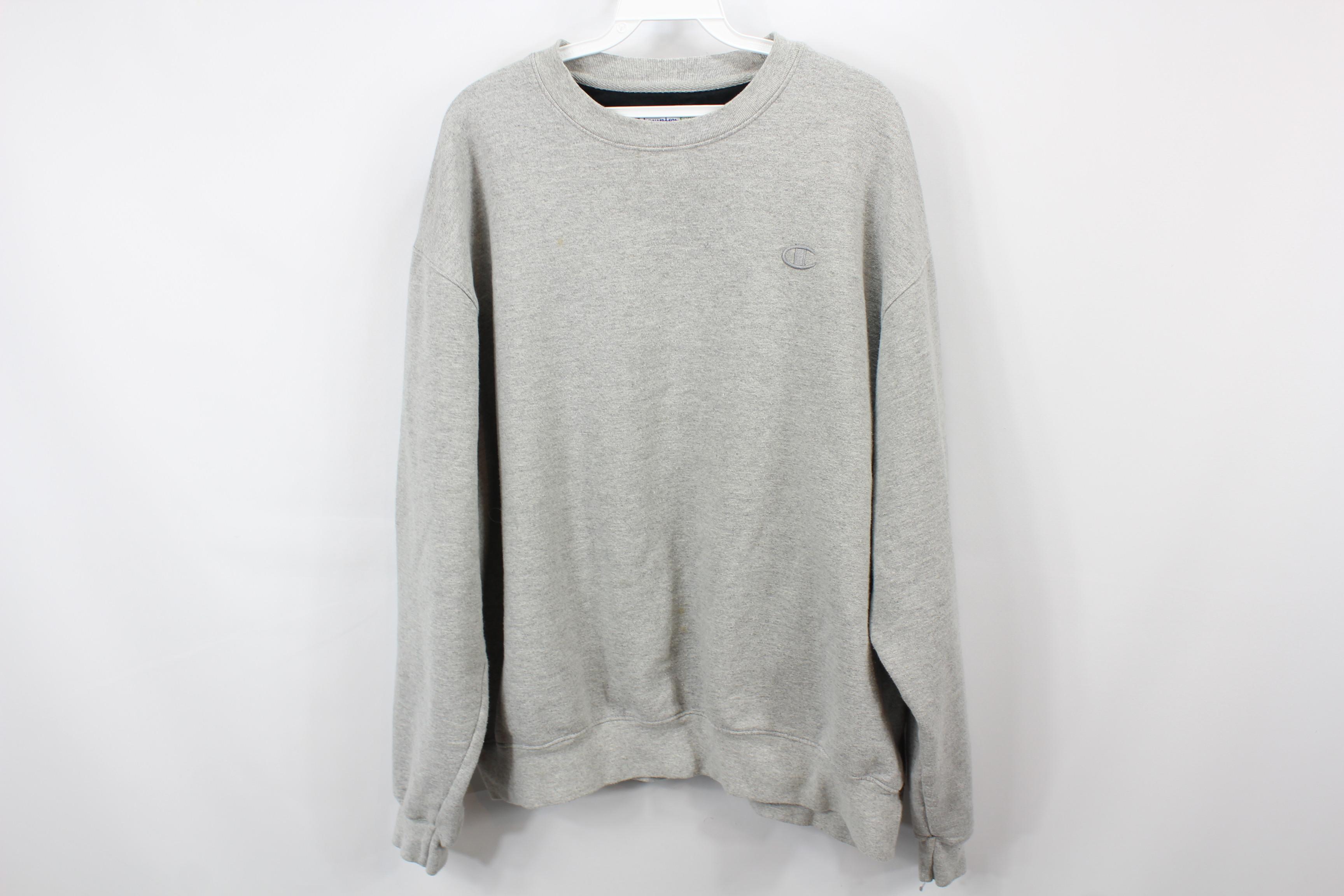 8fa722ea Champion ×. Vintage 90s CHAMPION Mens XL Long Sleeve Crewneck Sweatshirt ...