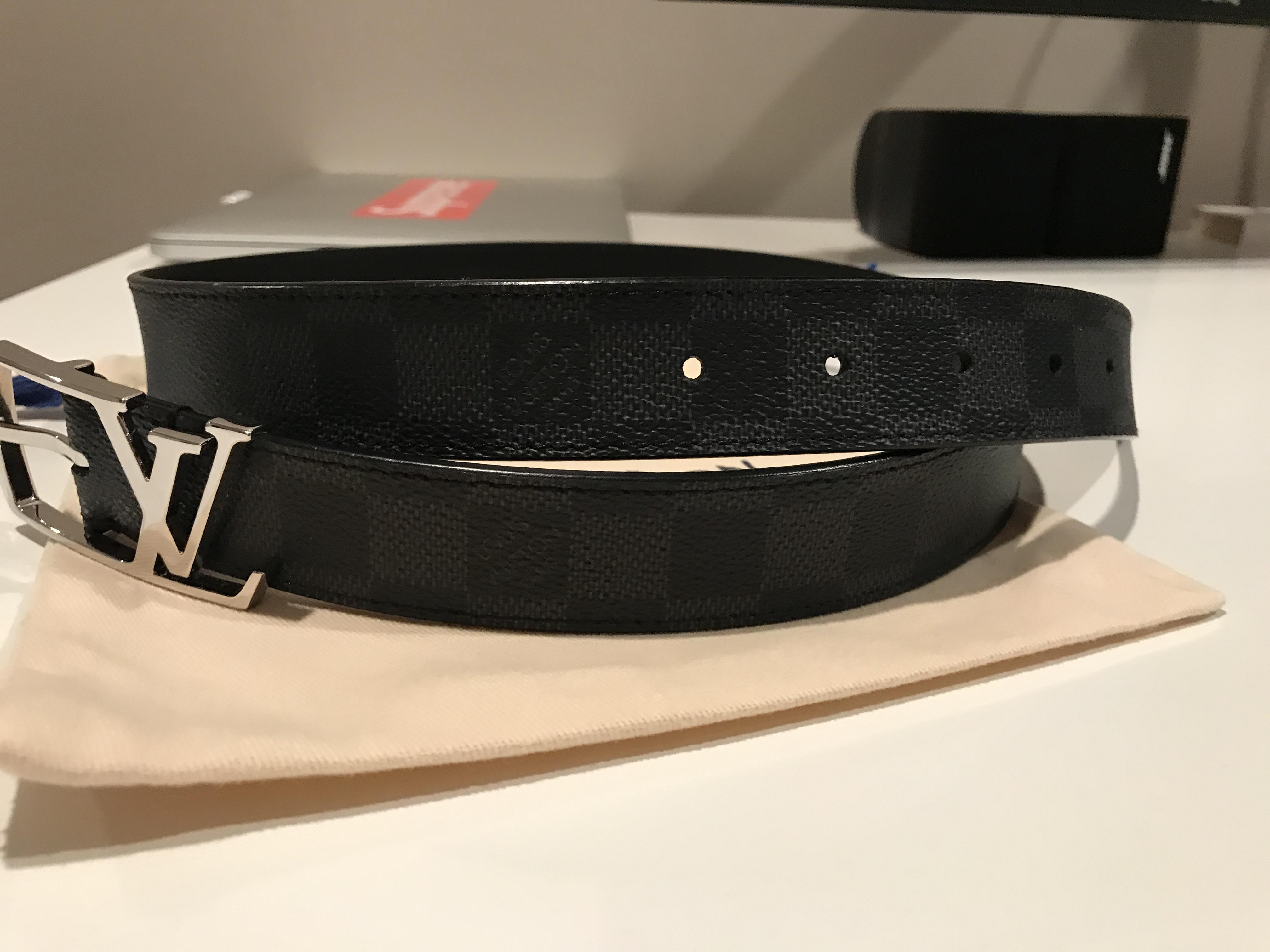 eafb04656320 Louis Vuitton Louis Vuitton Neogram belt Size 32 - Belts for Sale ...