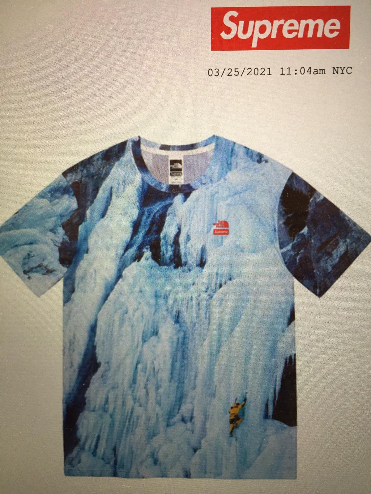 North Face Ice Climb Tee Size