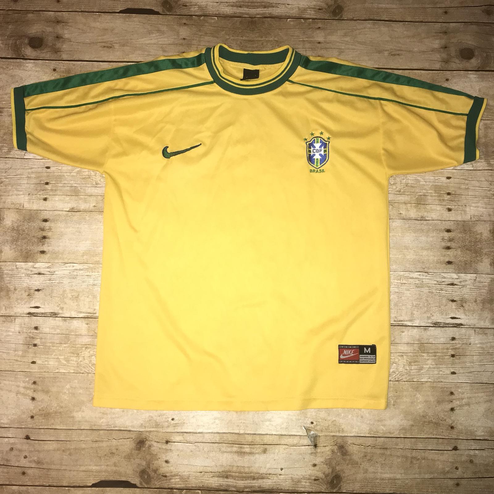 4bd557227bf Nike Brazil Soccer T Shirt - DREAMWORKS