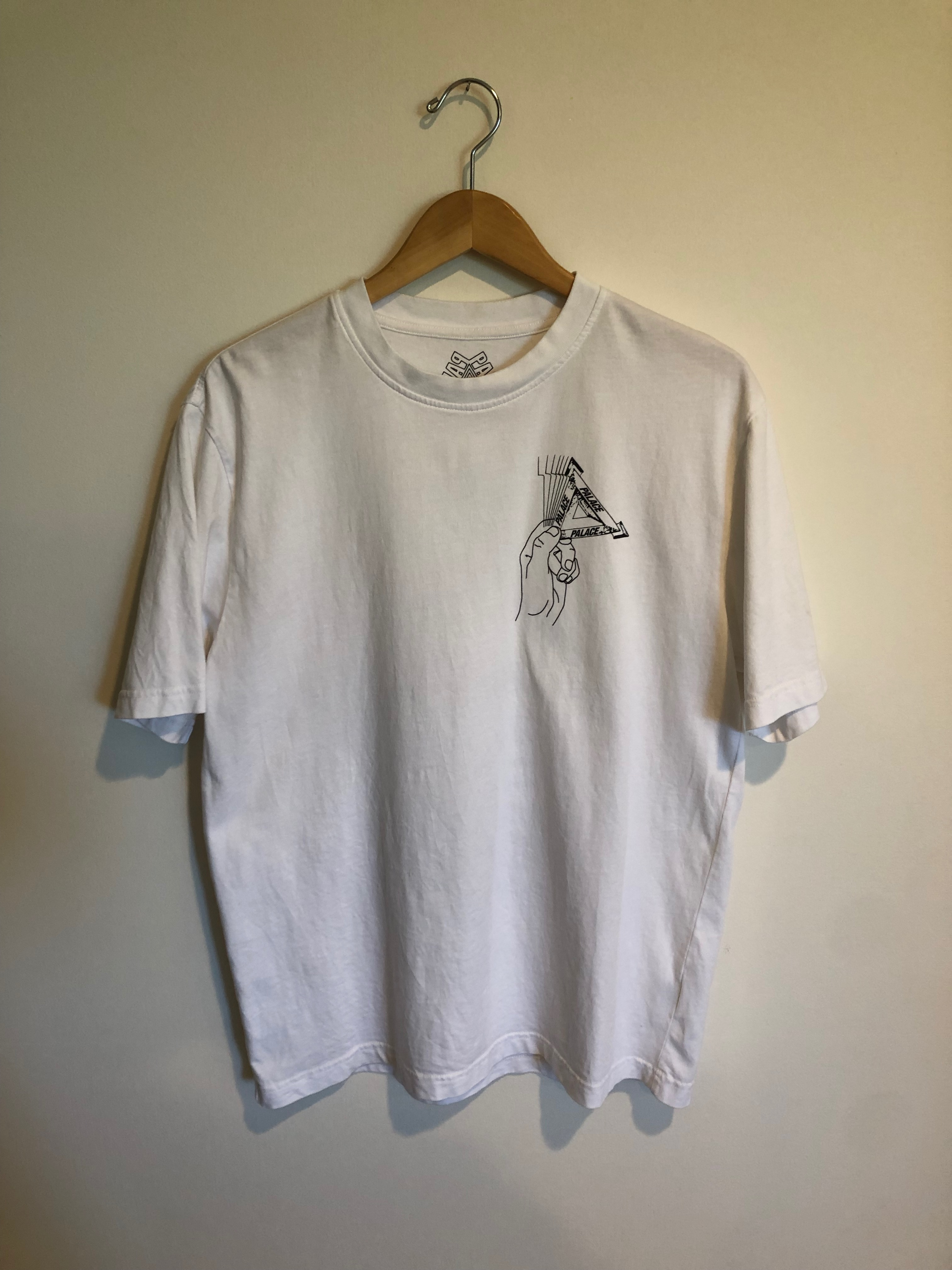 c857541d Palace Palace Grand Master T-shirt White   Grailed