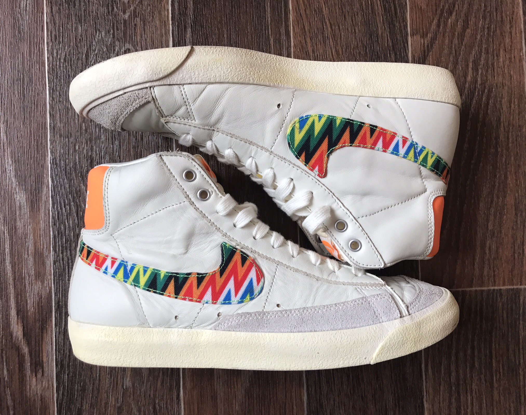 designer fashion 52f0a e0b0a Nike Blazer Zig-Zag Mid 77 Size 8 - Hi-Top Sneakers for Sale