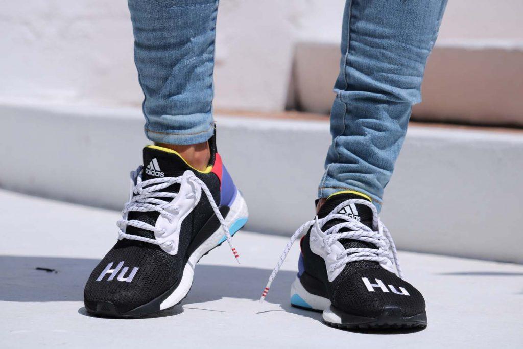 d5fd657a4 Adidas Nwt Glide Human Race Hu - Black - Size 8
