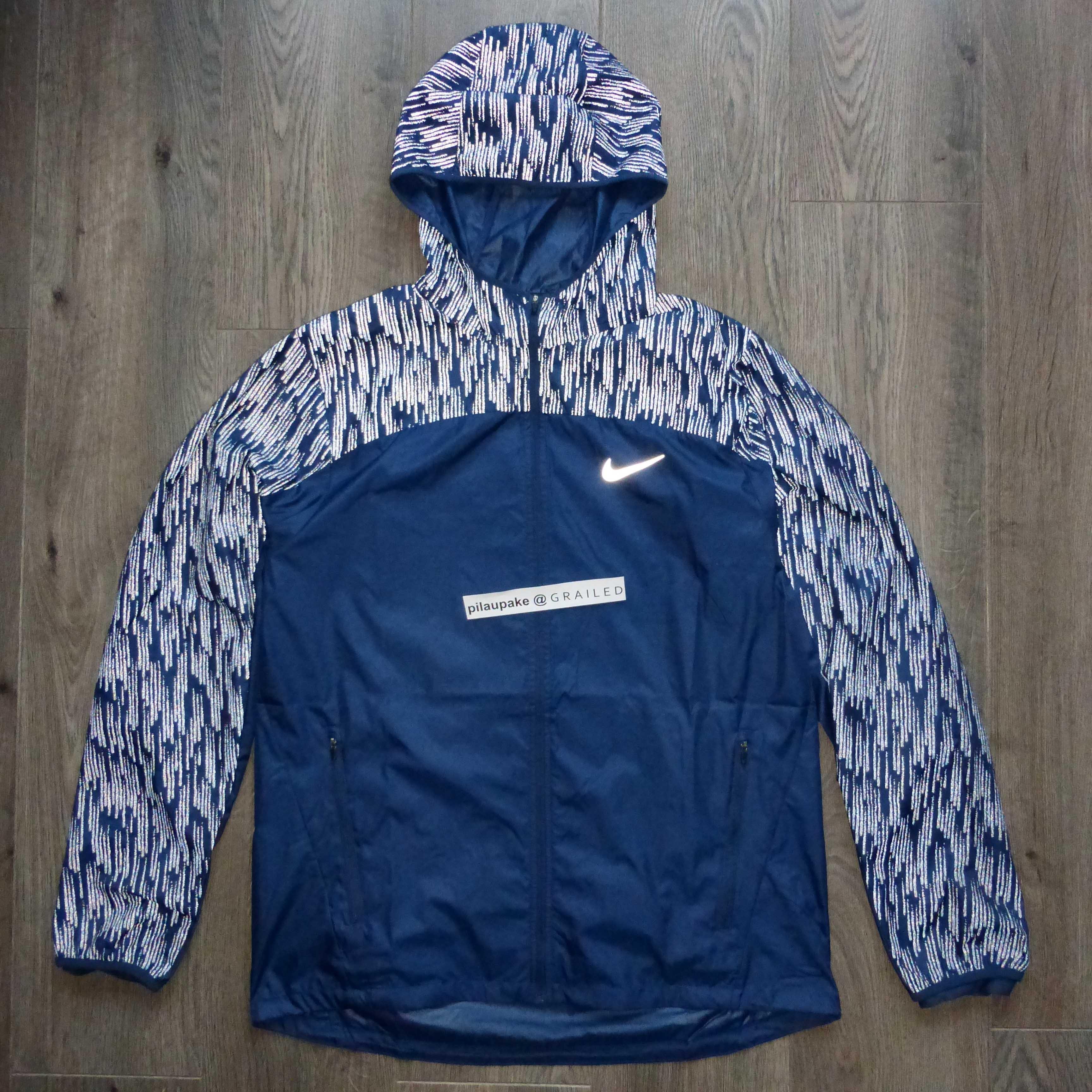 f8fd341979fb7 Nike Nike Shield Flash Reflective Running Jacket L Size l - Light ...
