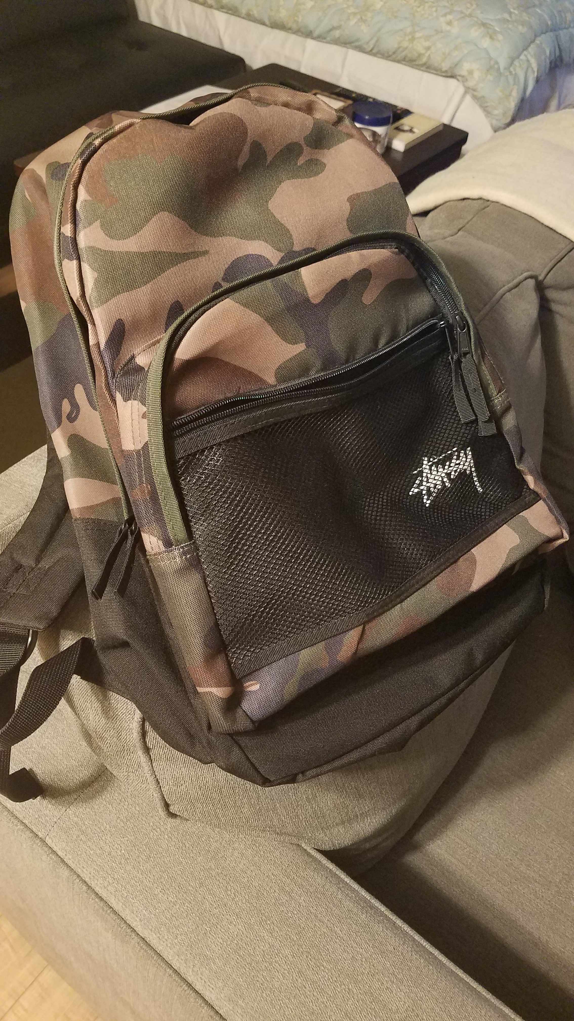 444b9ceddb Stussy Stock Backpack 133018-Camo Size one size - Bags   Luggage for Sale -  Grailed