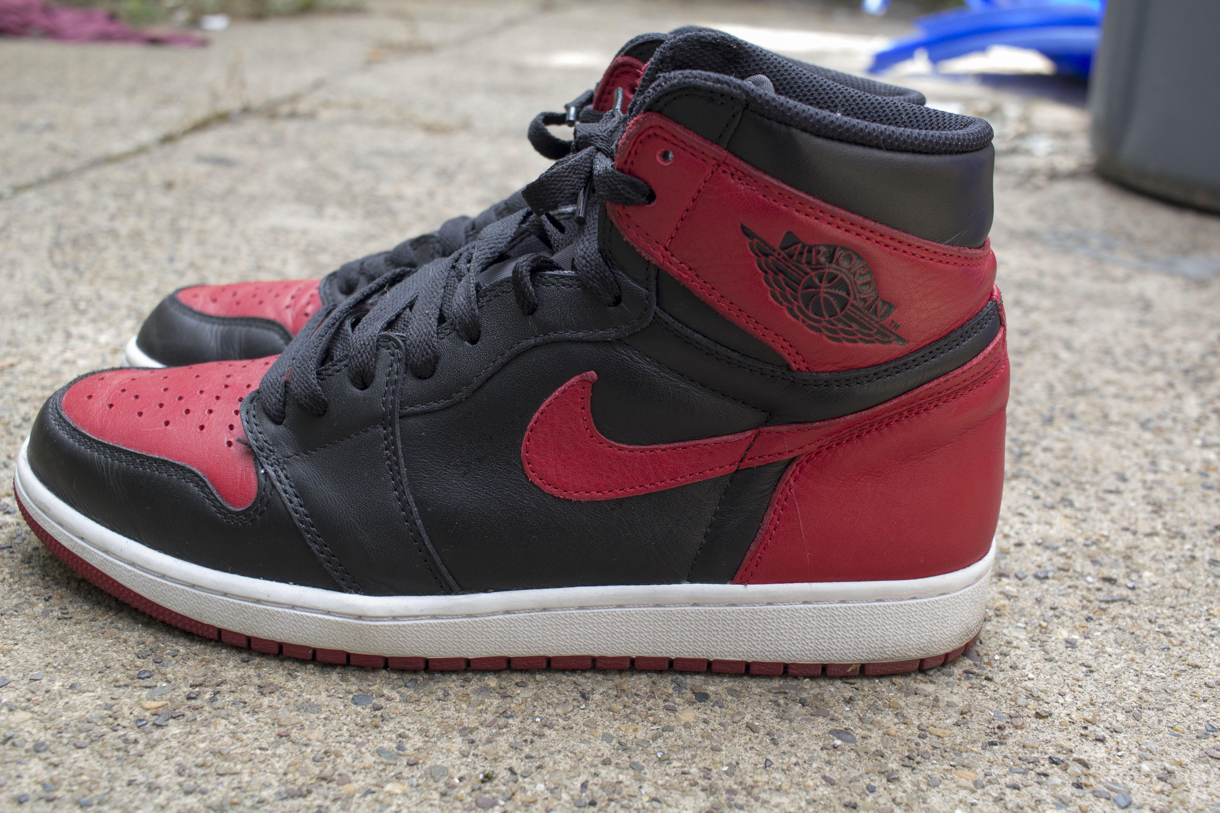 fa06586e5 Jordan Brand Nike Air Jordan 1 Bred 2016 Size 10.5 - Hi-Top Sneakers ...