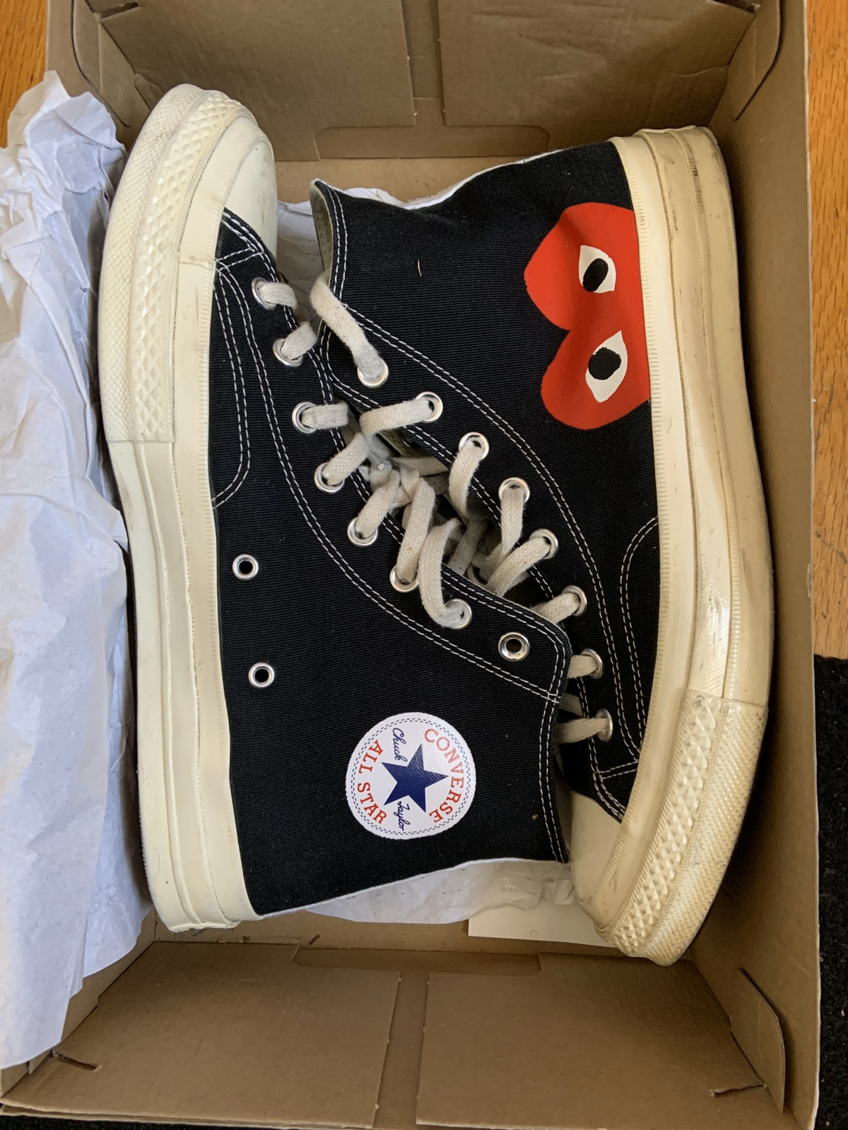 Comme des Garcons x Chuck Taylor All Star High Play