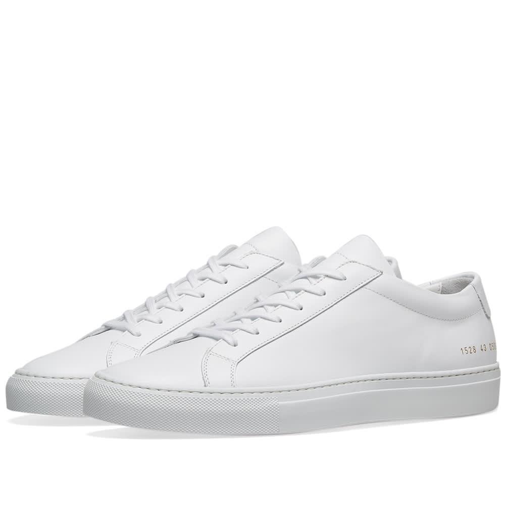 pretty nice so cheap popular brand COMMON PROJECTS ORIGINAL ACHILLES LOW WHITE 8 US 41 EU