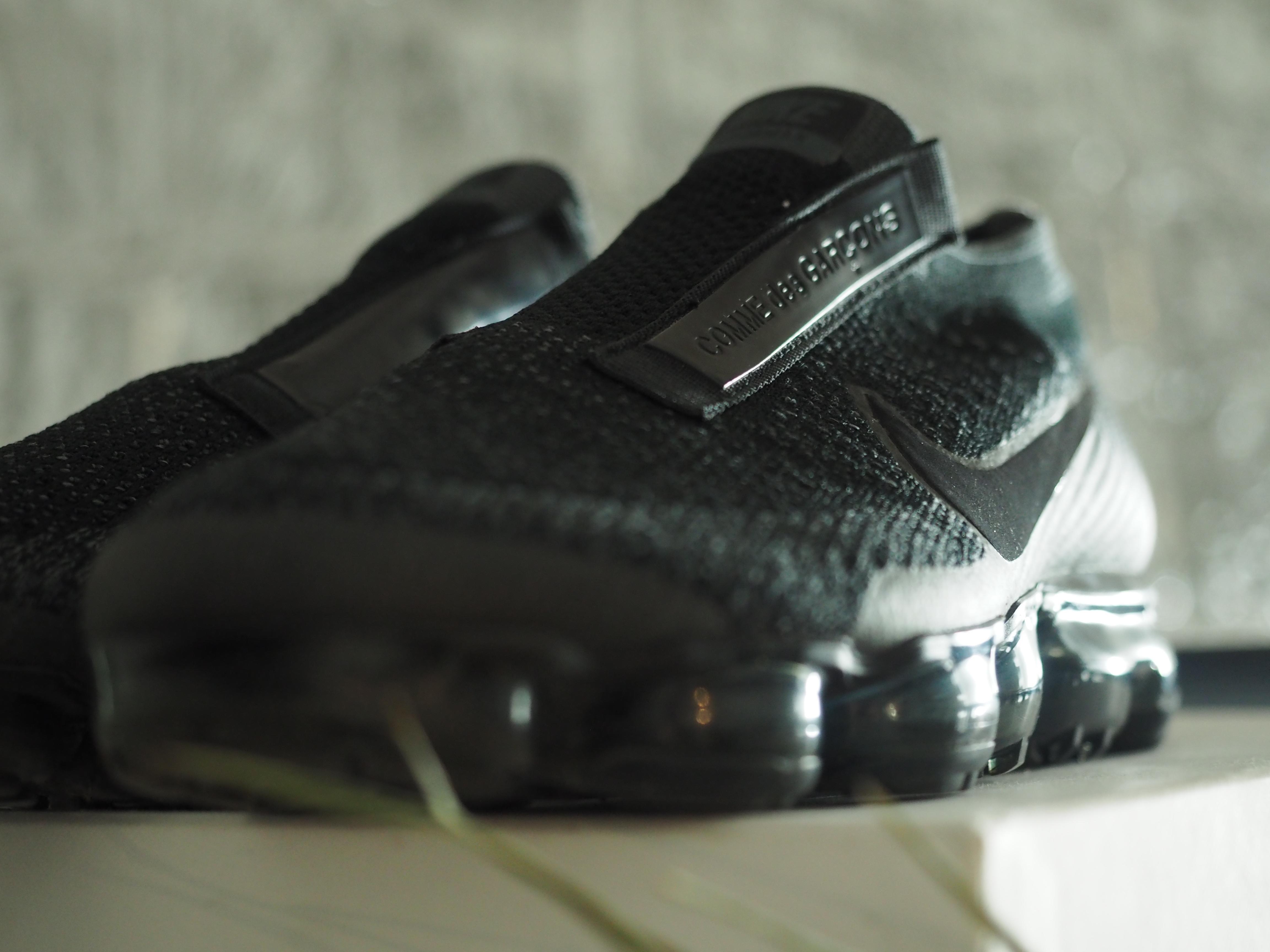 super popular 98a5d bf5f6 Nike × Comme des Garcons ×. COMME DES GARCONS X NIKE VAPORMAX BLACK