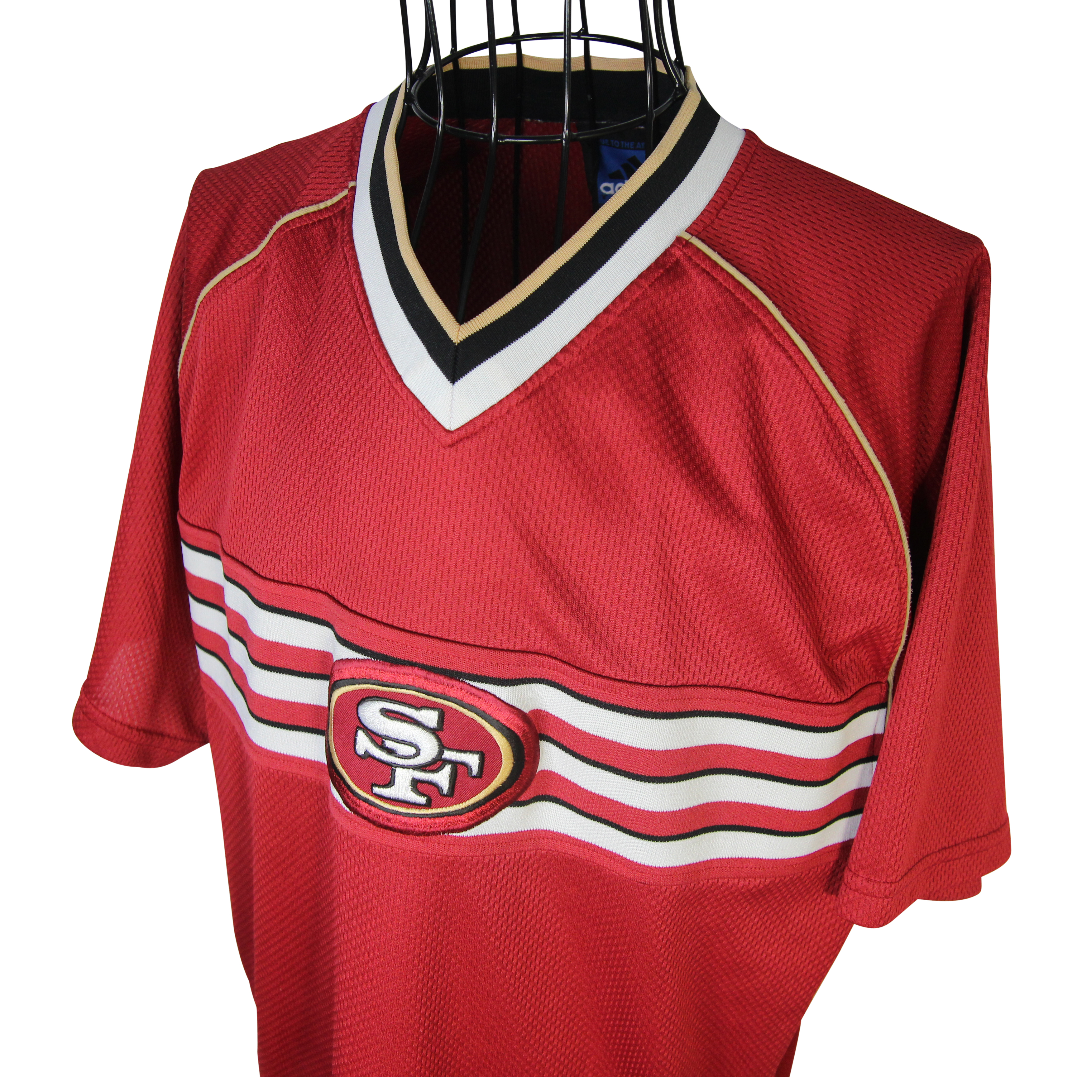 Adidas Vintage Adidas San Francisco 49ers Patch Jersey Shirt