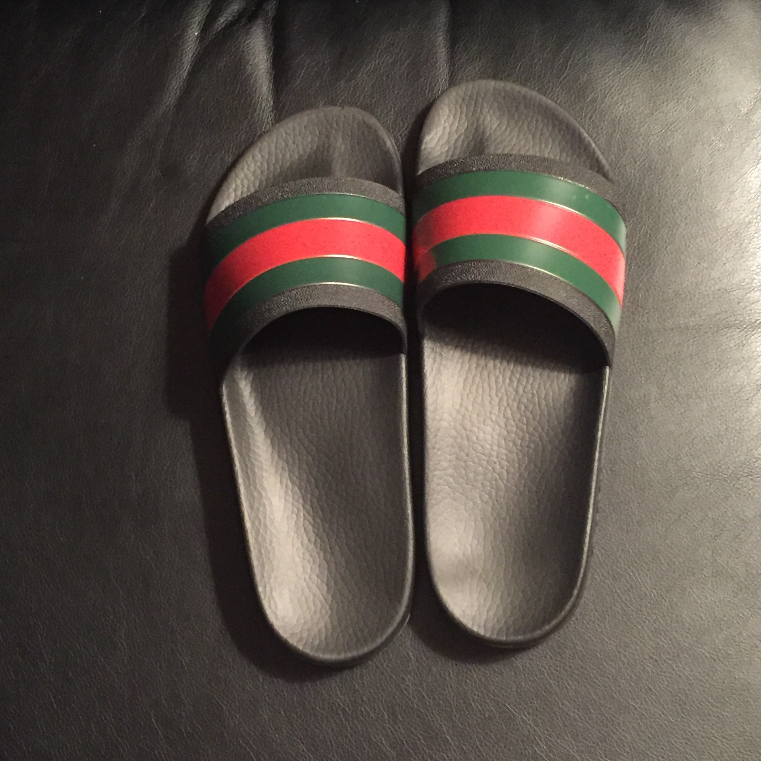 32253fe5232 Gucci Gucci Flip Flops Size 9.5 - for Sale - Grailed