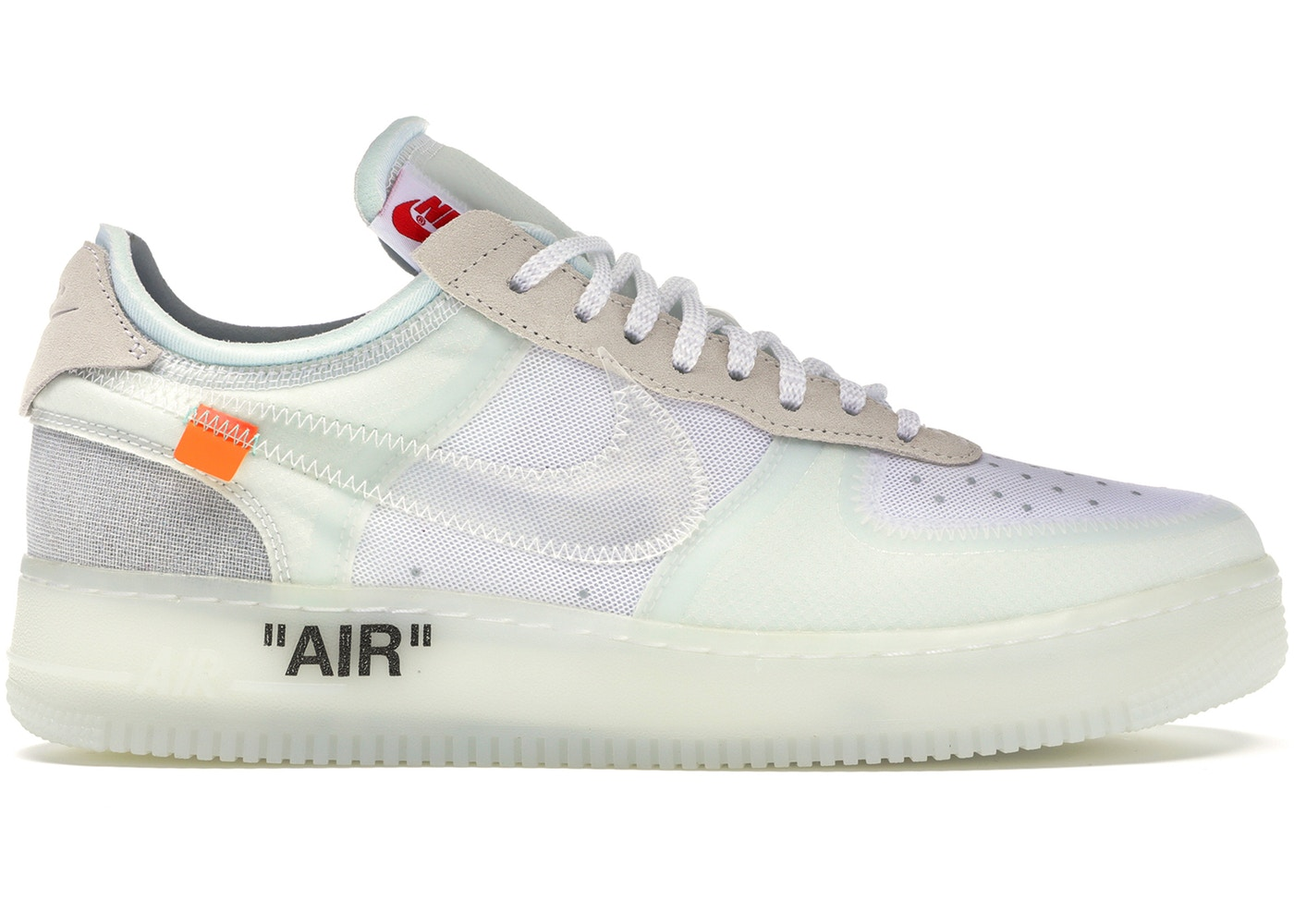 2feecd9f928e Nike Nike X Off-white Air Force 1 Low Og  White