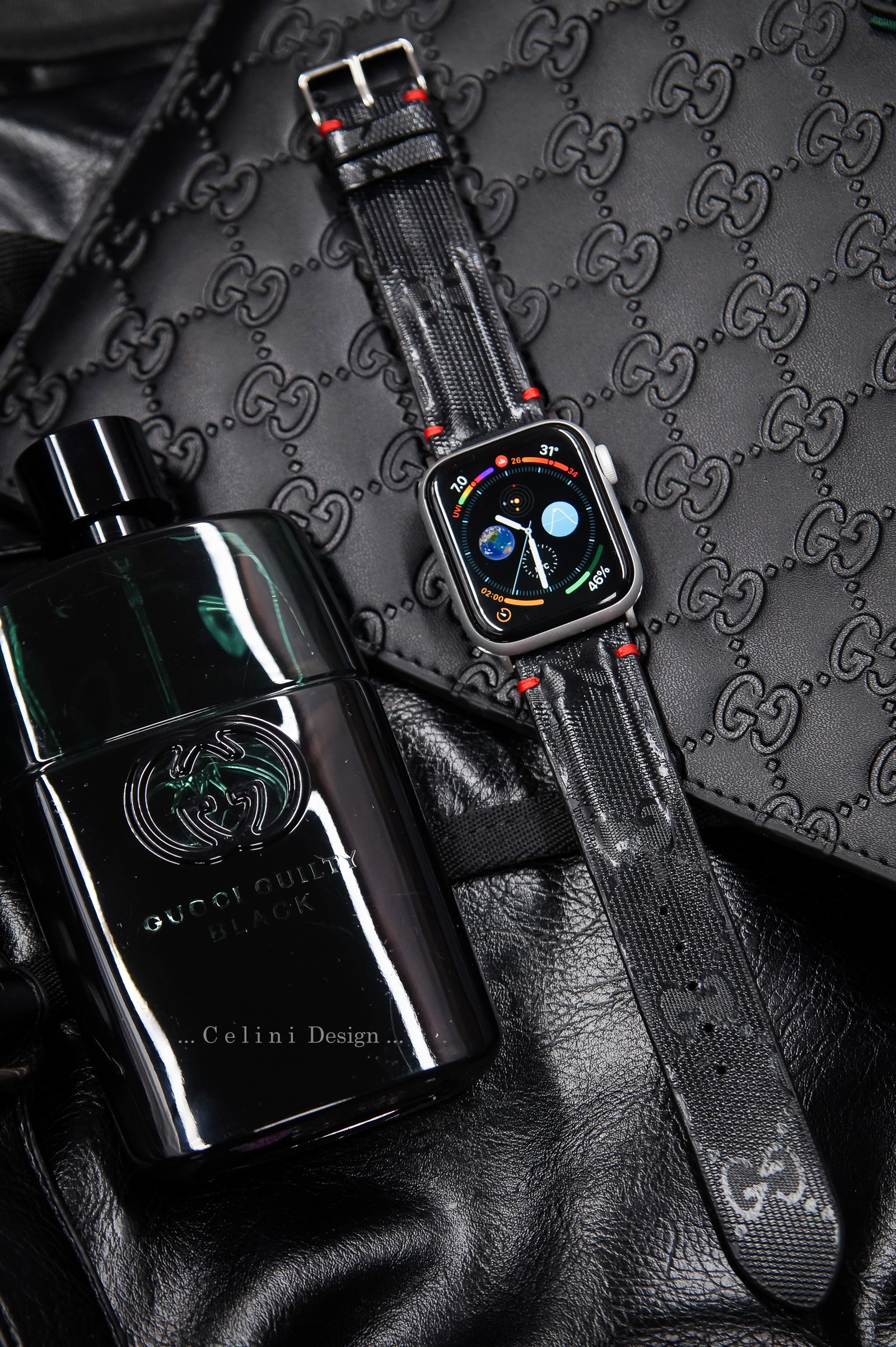 outlet store 20fc9 d759f Gucci Apple Watch Band Gucci iwatch Band | Gucci Watch Band | Apple Watch  Band 44mm 42mm 38mm Series 4, 3, 2, 1 | Gucci Apple Watch Series 4