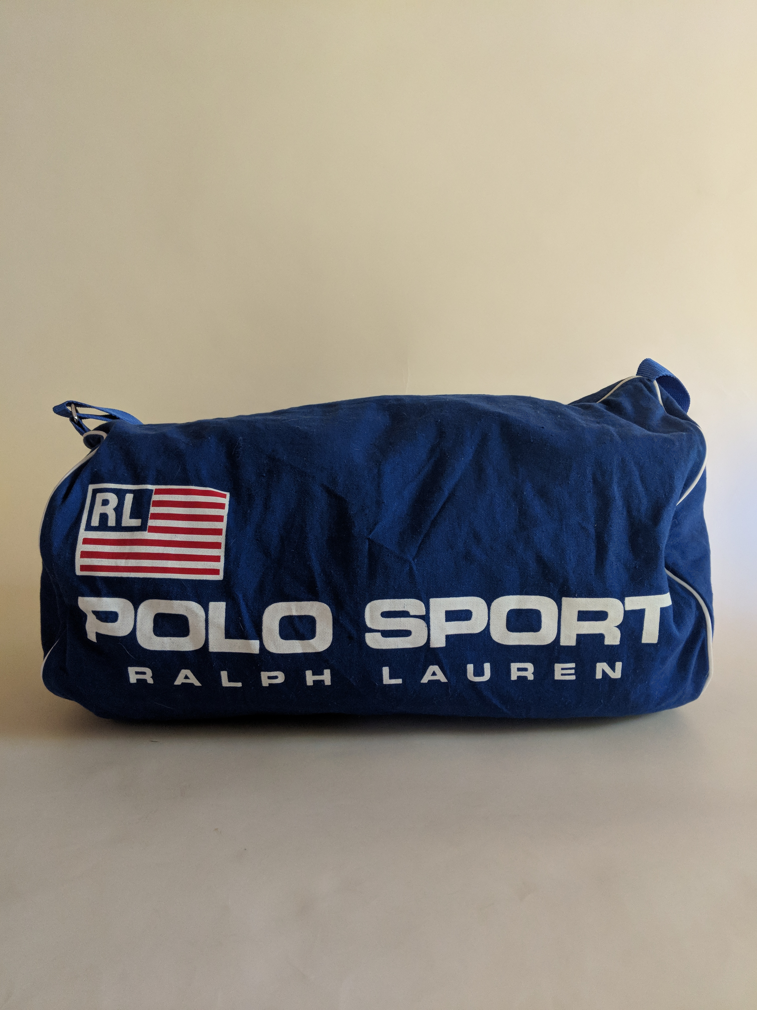 0eb238a0c4e5 Polo Ralph Lauren Vintage 1990s Ralph Lauren Polo Sport Gym Duffel Bag     Supreme    Carry On Size one size - Bags   Luggage for Sale - Grailed