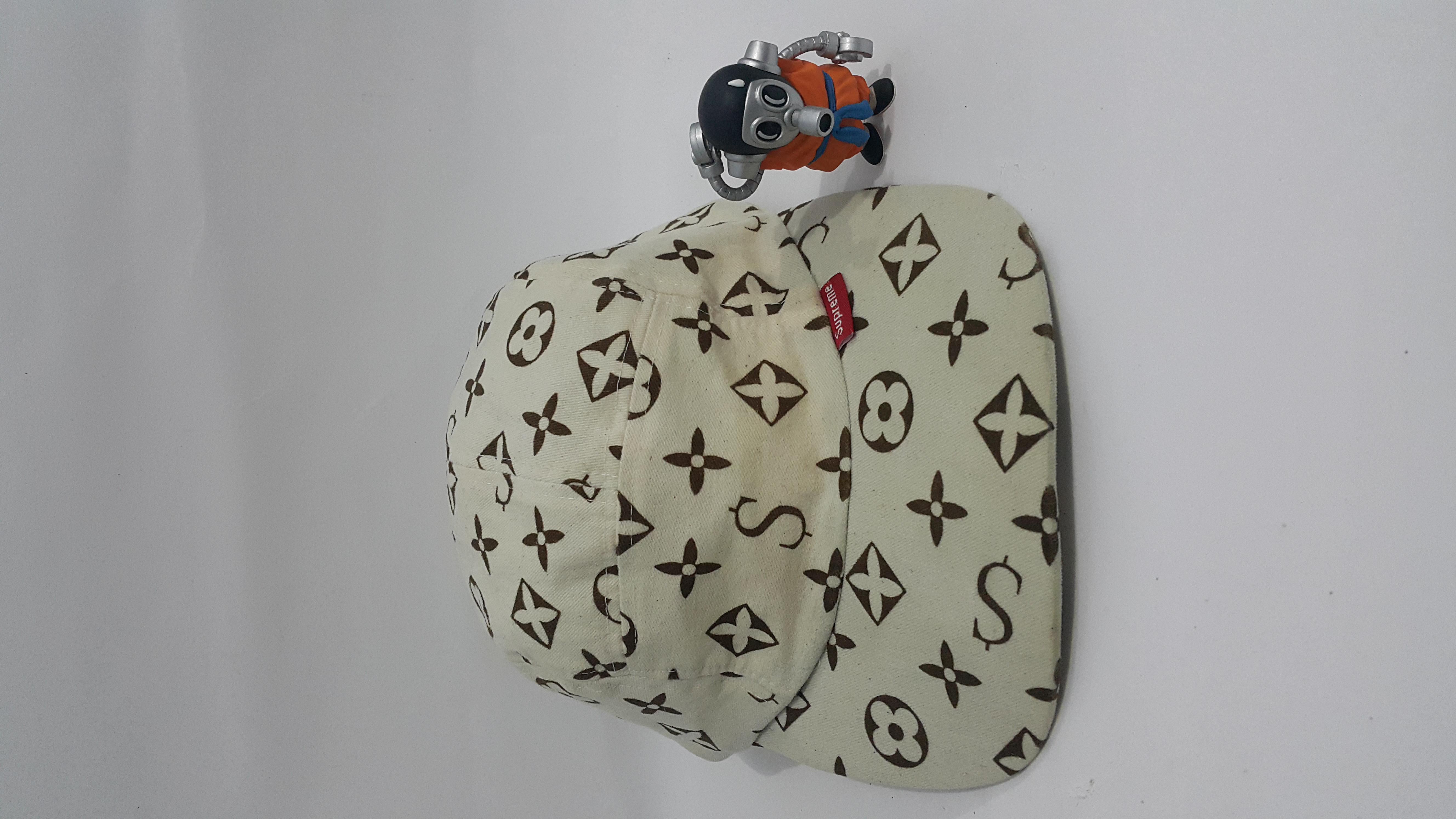 147c841699c Supreme Supreme OG monogram LV camp cap 2000   2001 rare Size one size -  Hats for Sale - Grailed