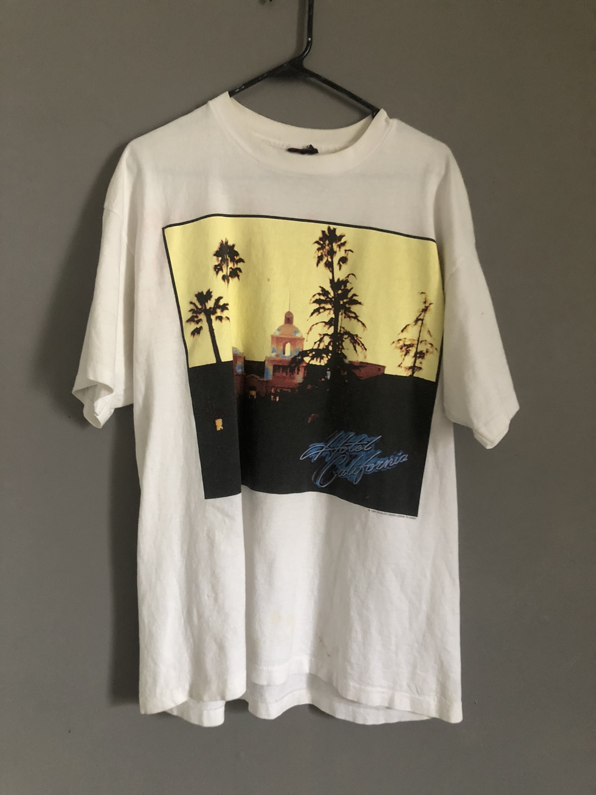 Made in USA Vintage Concert Shirt Fits Like XL Vintage Band Tee 1995 Eagles World Tour T-shirt
