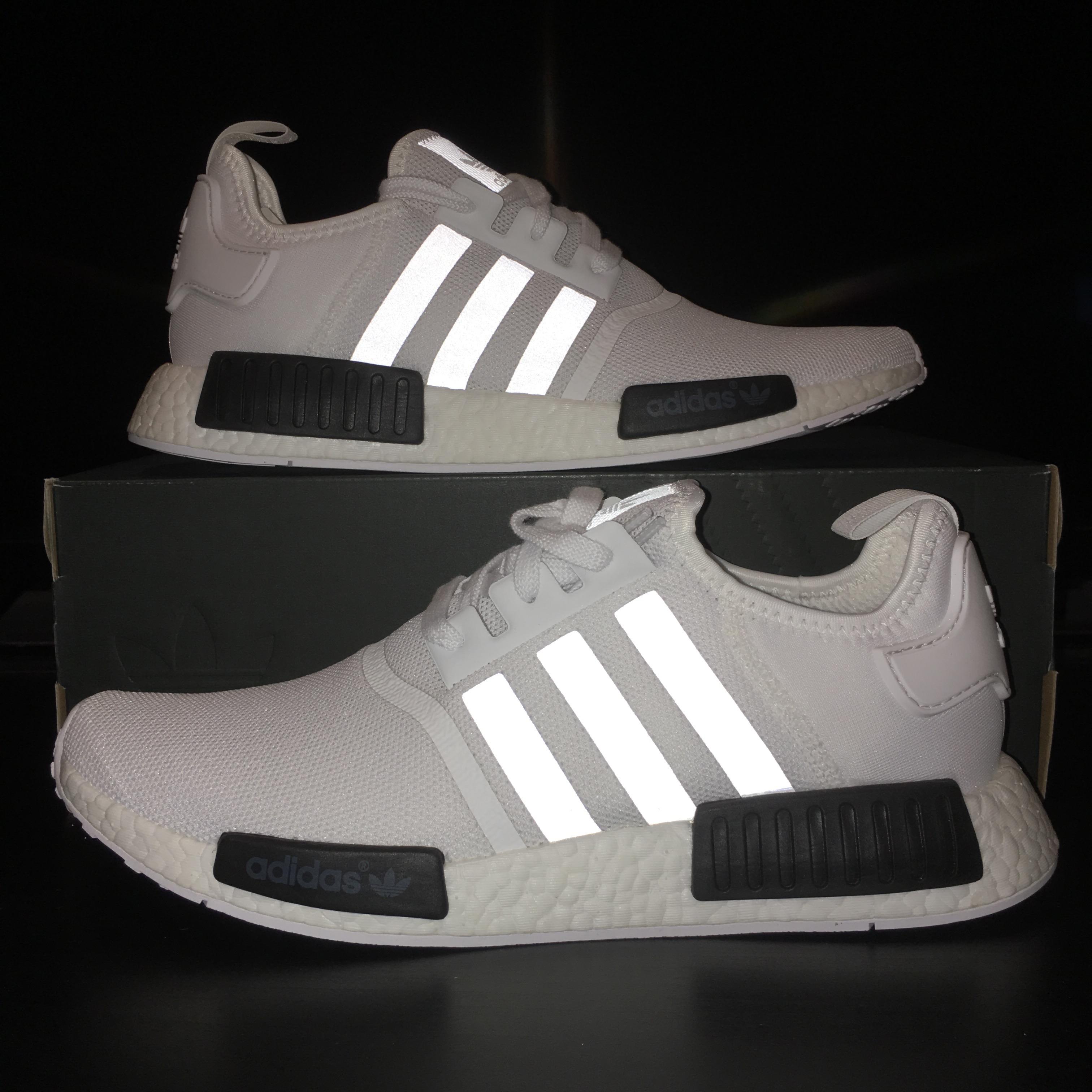 23e21f1c37e72 Adidas Nmd R1 White Black Bb1968