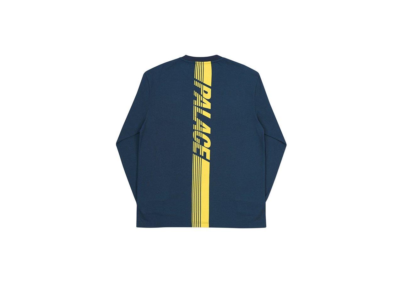 2b762981d0 Palace Line Stripe Long Sleeve Navy Xl   Grailed