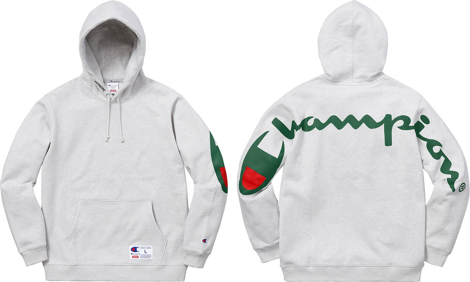 a1c670a5645 Supreme × Champion ×. Supreme x Champion Hooded Sweatshirt