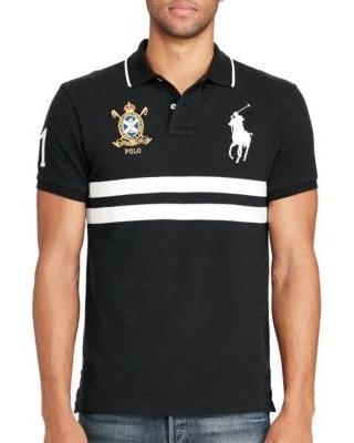 Polo Ralph Lauren Ralph Lauren Big Pony Polo Black White