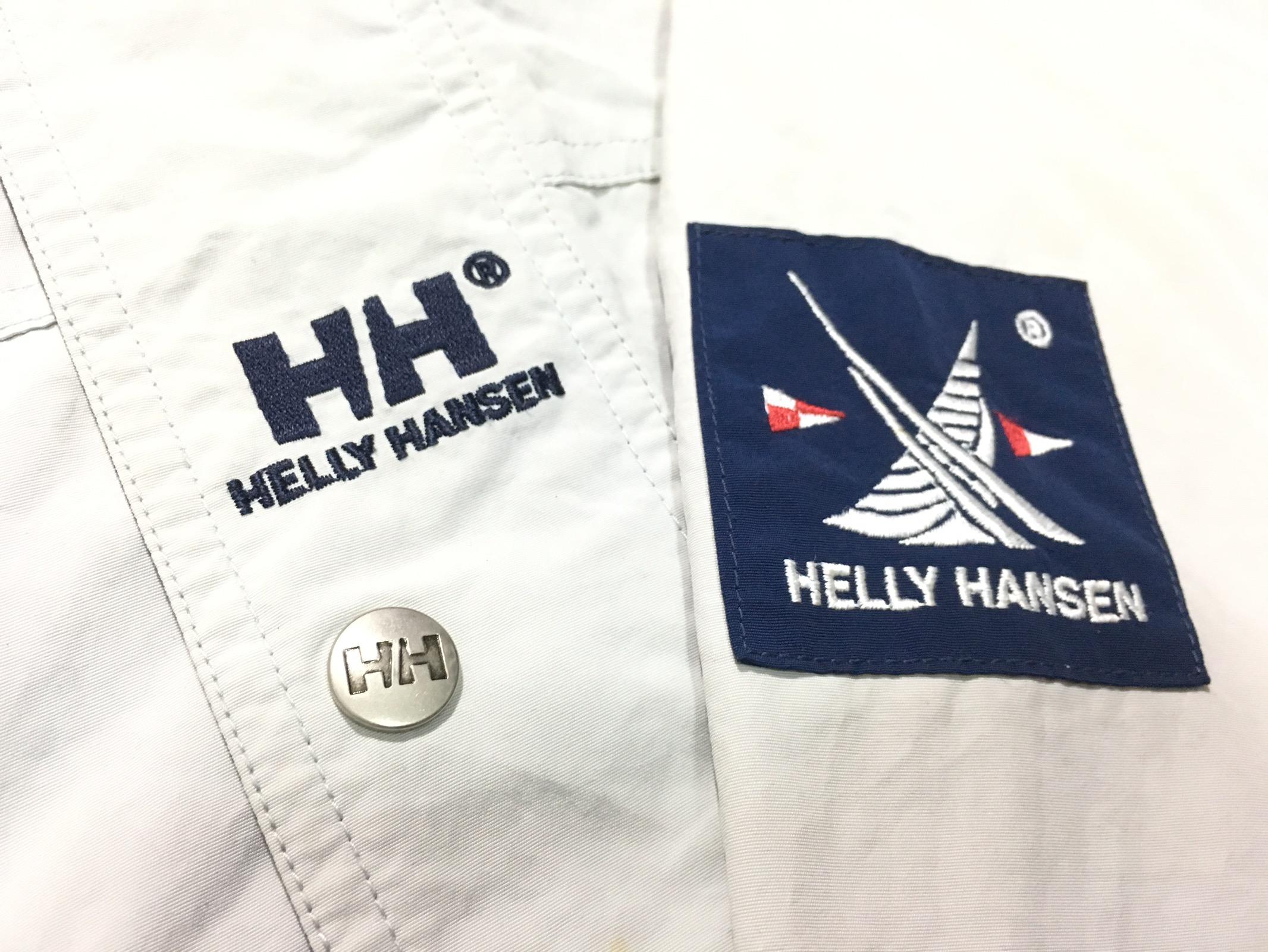 b764ddc6b Helly Hansen Vintage Helly Hansen Twin Sails Jacket Hooded ...