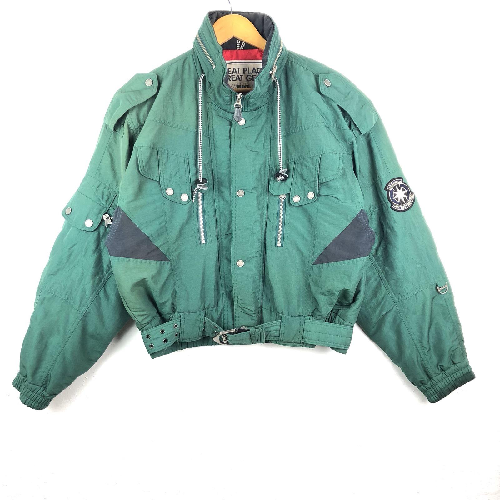 Ellesse Green Sky Jacket