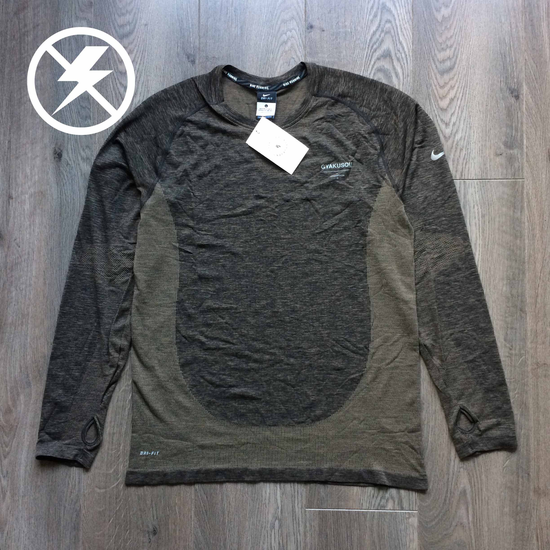 10040d4e Undercover × Nike × Jun Takahashi ×. Nike x Undercover Gyakusou long sleeve  DRI-FIT knit tee