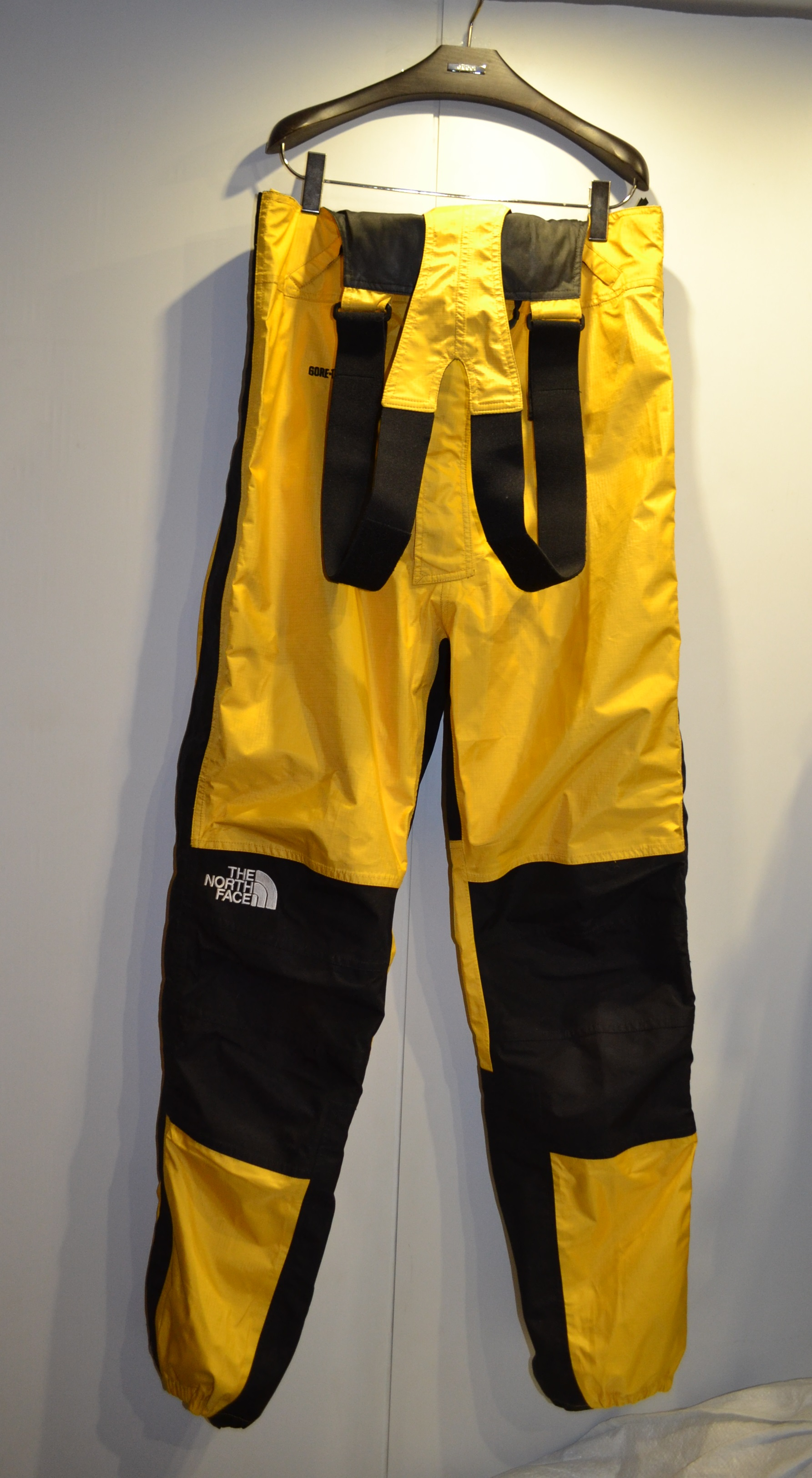 revendeur d8286 55538 The North Face Vintage BIB XL Overall Yellow Ripstop Gore-tex Deadstock  Winter Hardshell Suit Rare Supreme 90s piece Karakoram Salopette